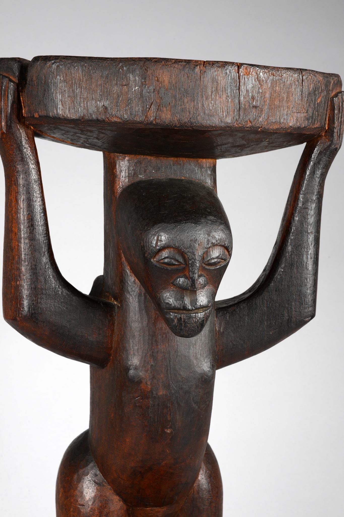 Caryatid stool