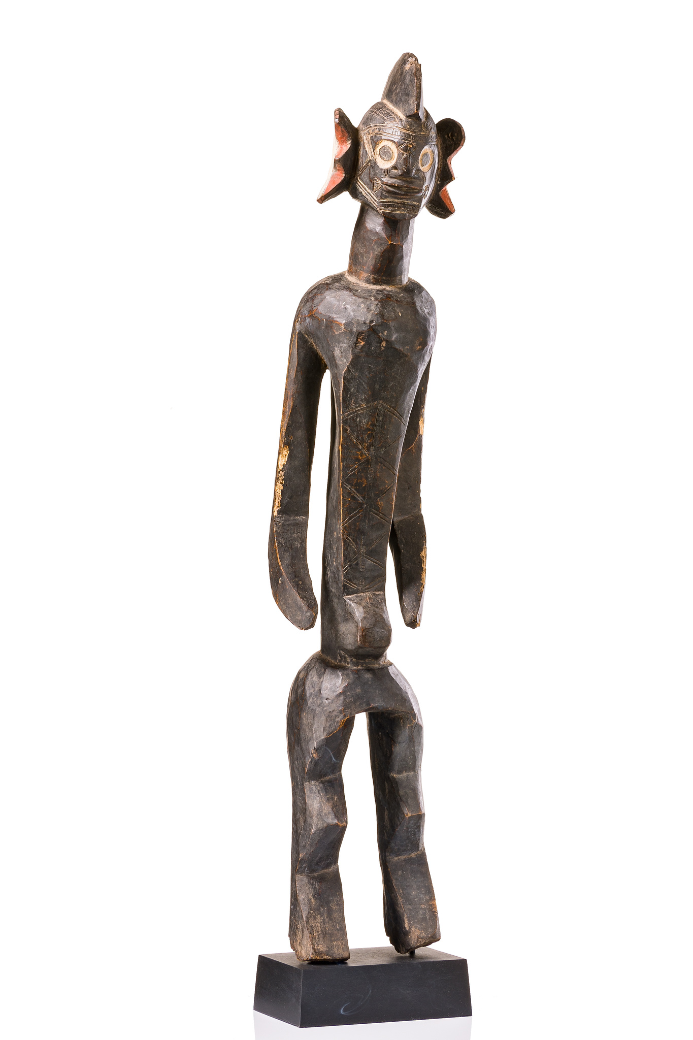 """Female ancestor figure """"iagalagana"""", before 1969"""