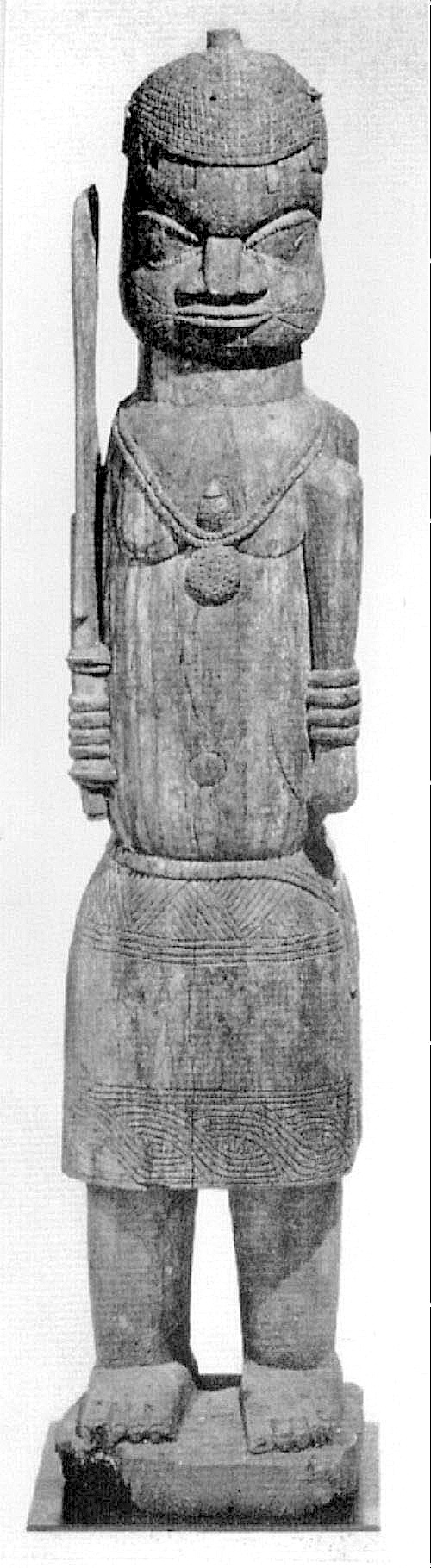 Grande figure masculine de sanctuaire