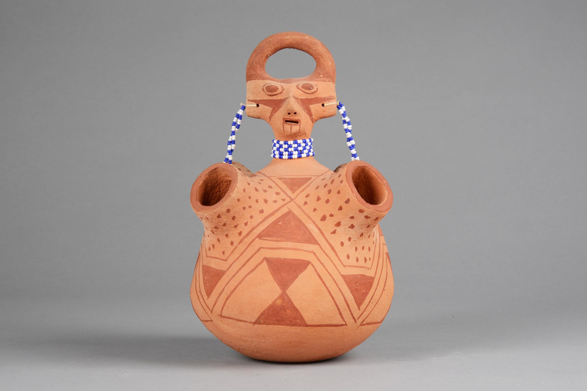 Anthropomorphic jar