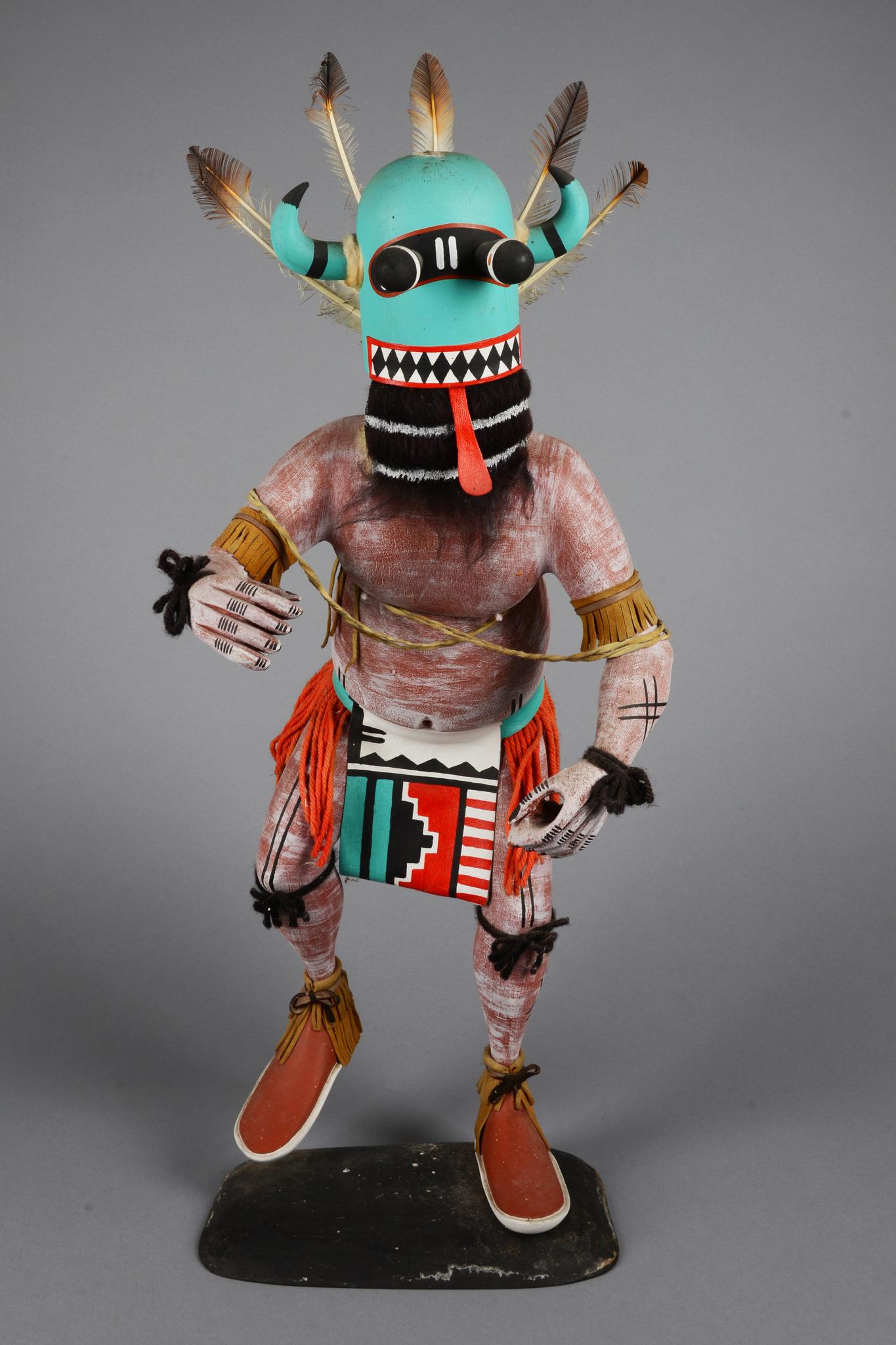 """White Buffalo Dancer (""""Mosairu"""") - Great Spiritual Protector Kachina"""