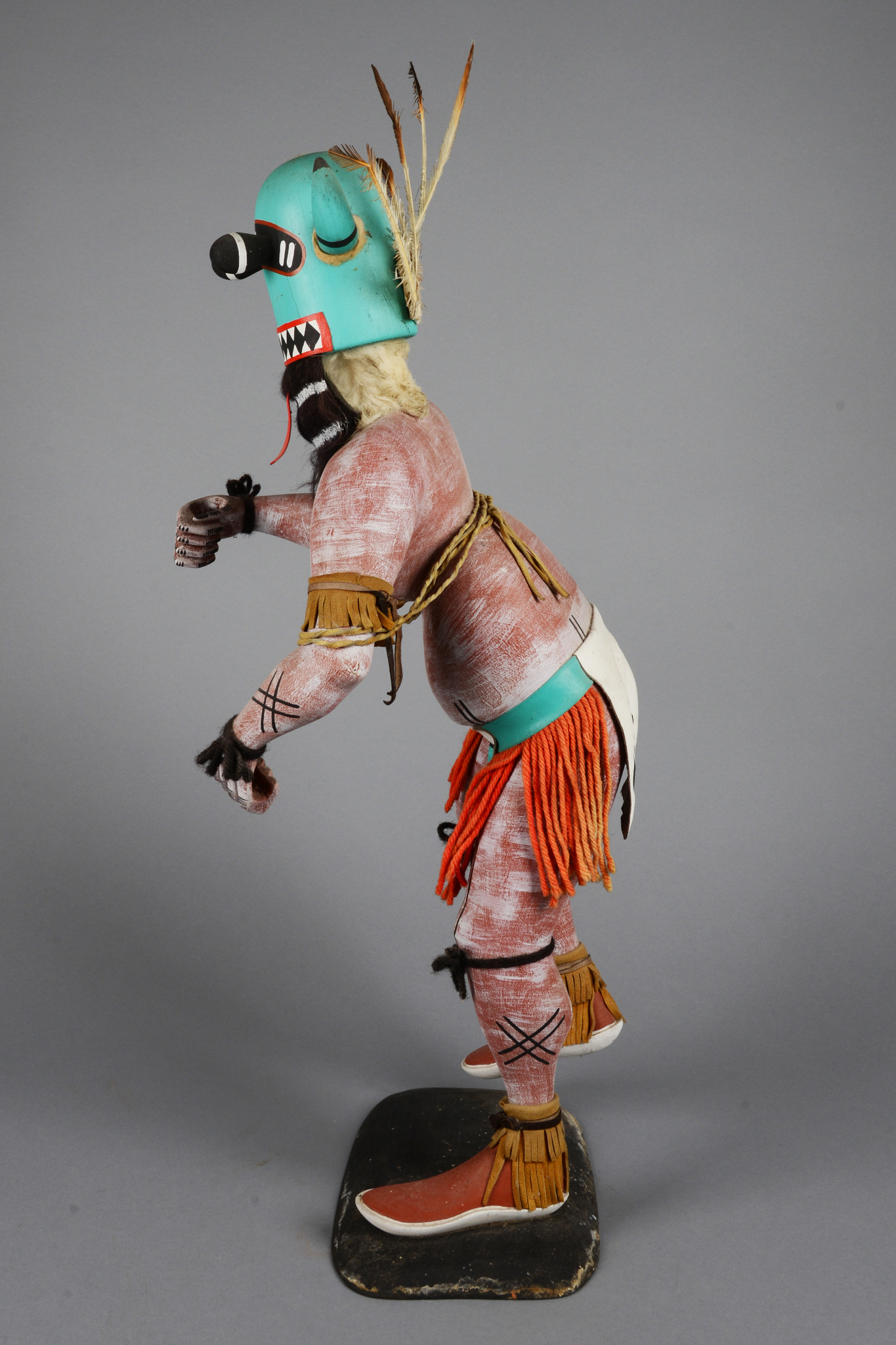 "White Buffalo Dancer (""Mosairu"") - Great Spiritual Protector Kachina"