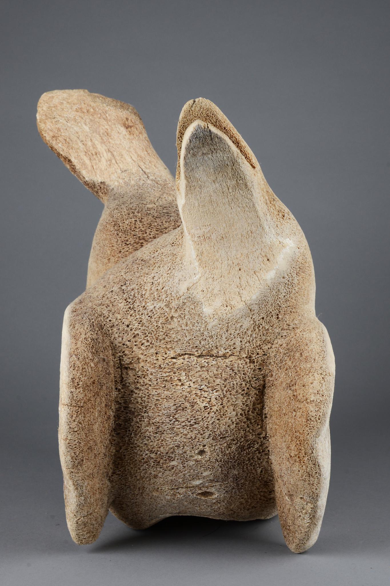Abstrakte Skulptur einer Robbe