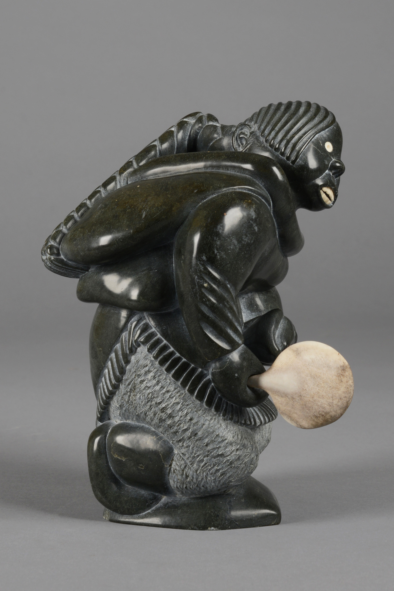 Woman with drum