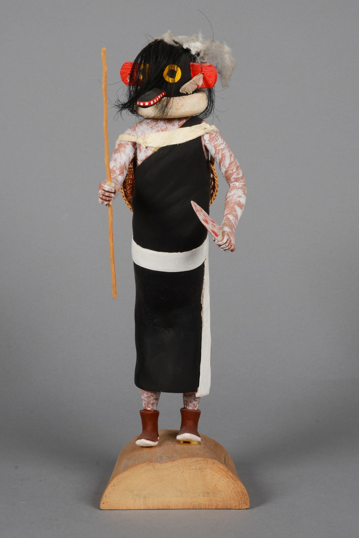 """Ogre Woman (""""Soyok Wu-uti"""") Kachina"""