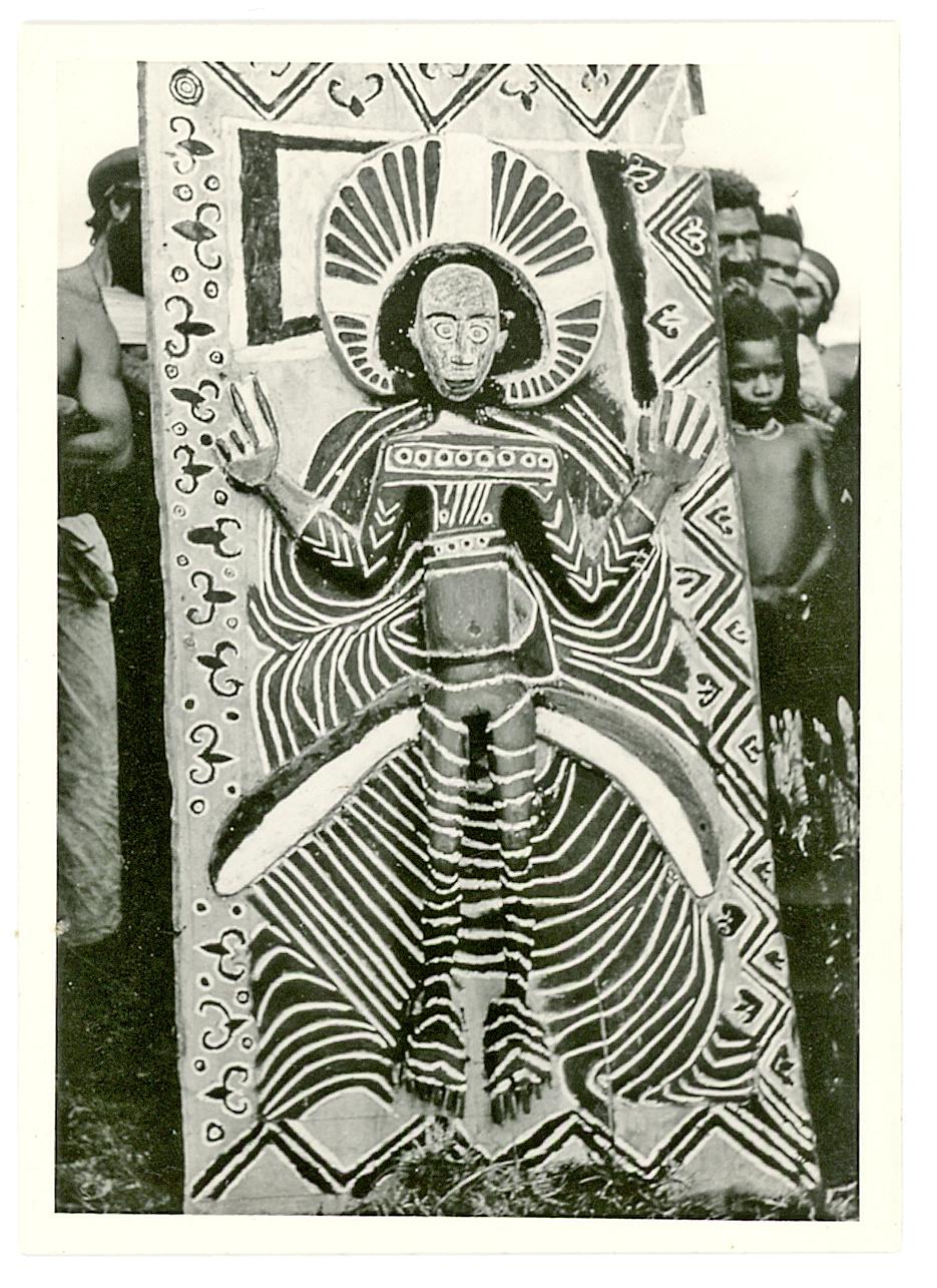 Wandpaneel mit Jesus Christus Darstellung, 1950/60er