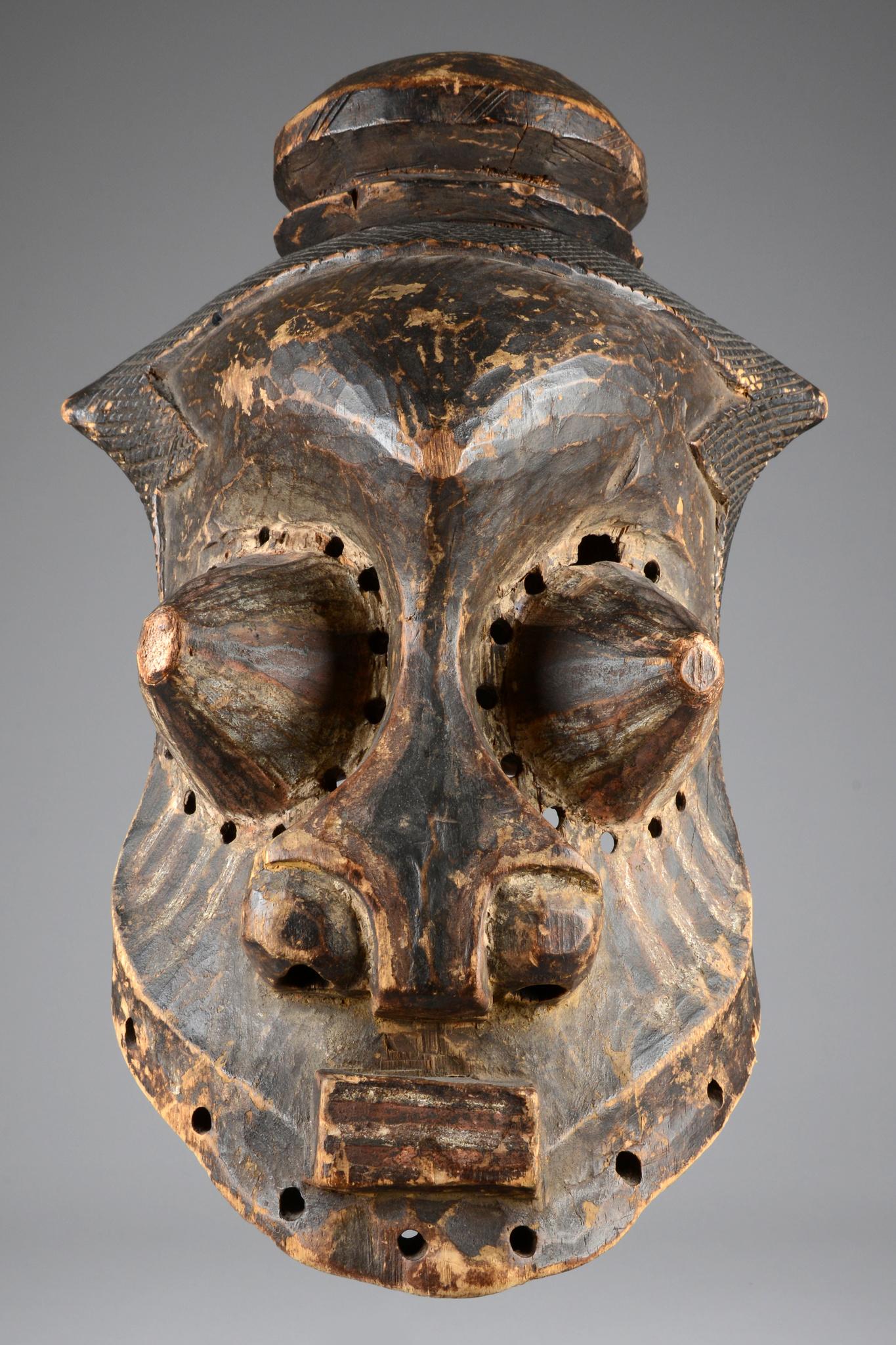 """Maske eines Naturgeistes """"mulwalwa"""""""