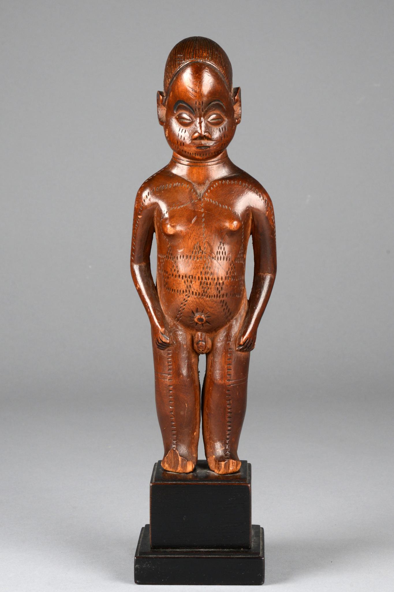 "Anthropomorphic male ancestor figure ""beli"""