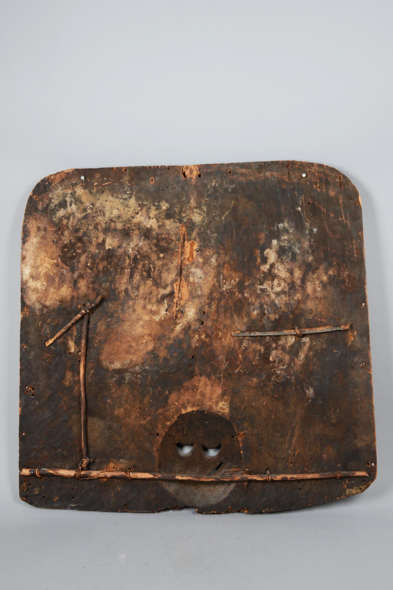 "Rare panel of the ""ekpo"" society"