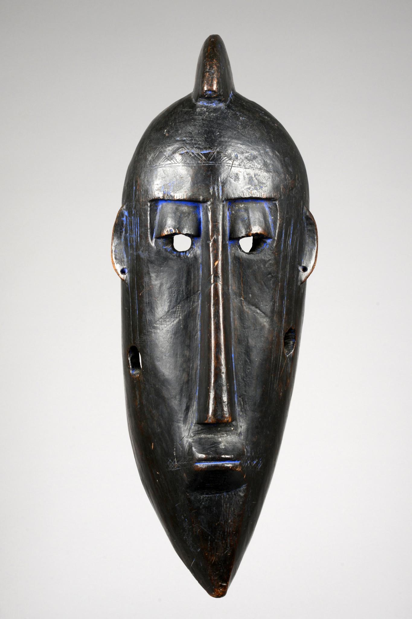 Große anthropomorphe Maske