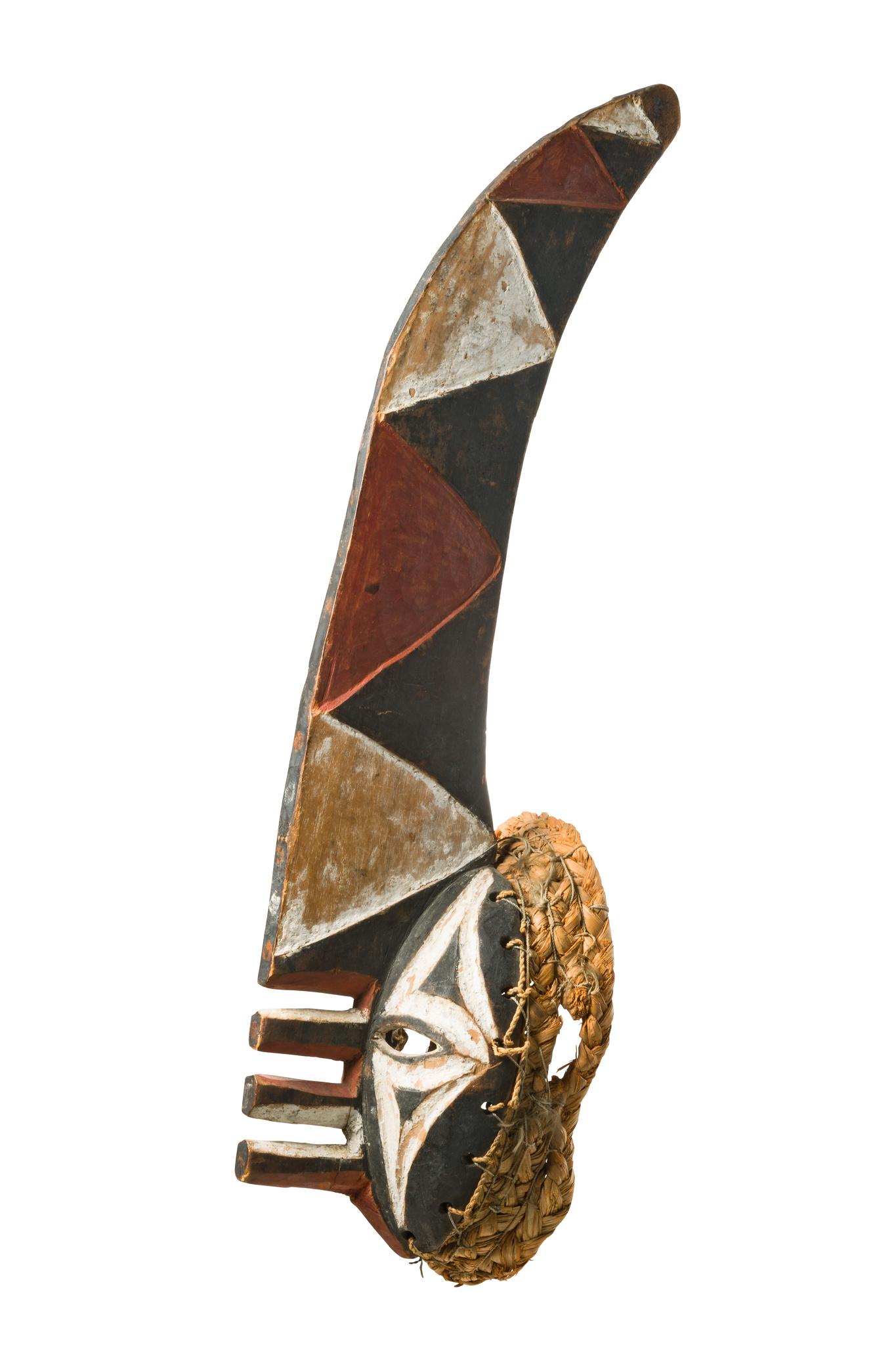"""Maske """"mma ji"""" (""""Yams Messer"""")"""