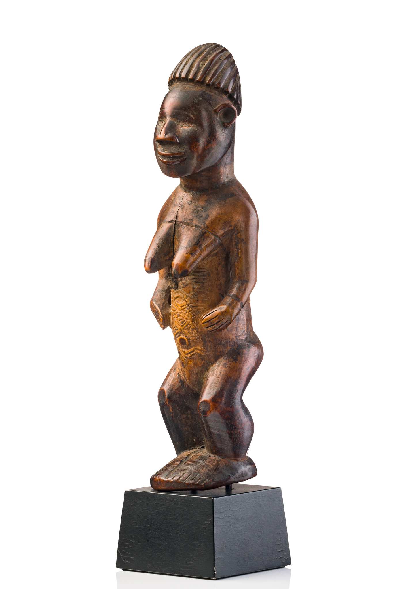 """Stehende weibliche Figur """"mukuya"""""""