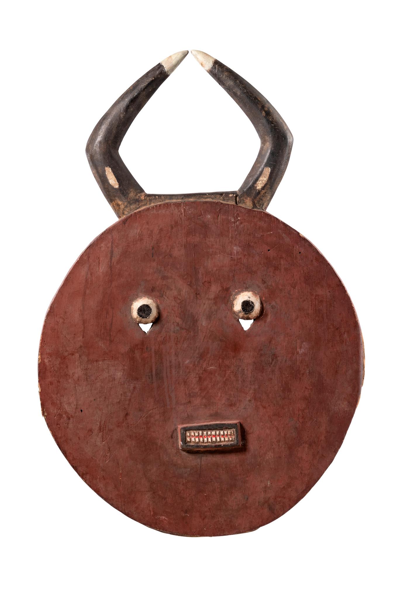 """Large face mask """"kple kple"""" of the """"goli"""" group"""