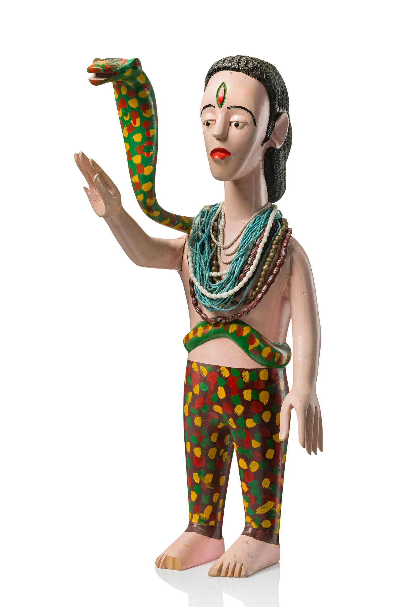 """Figur mit Schlange """"mami wata"""""""
