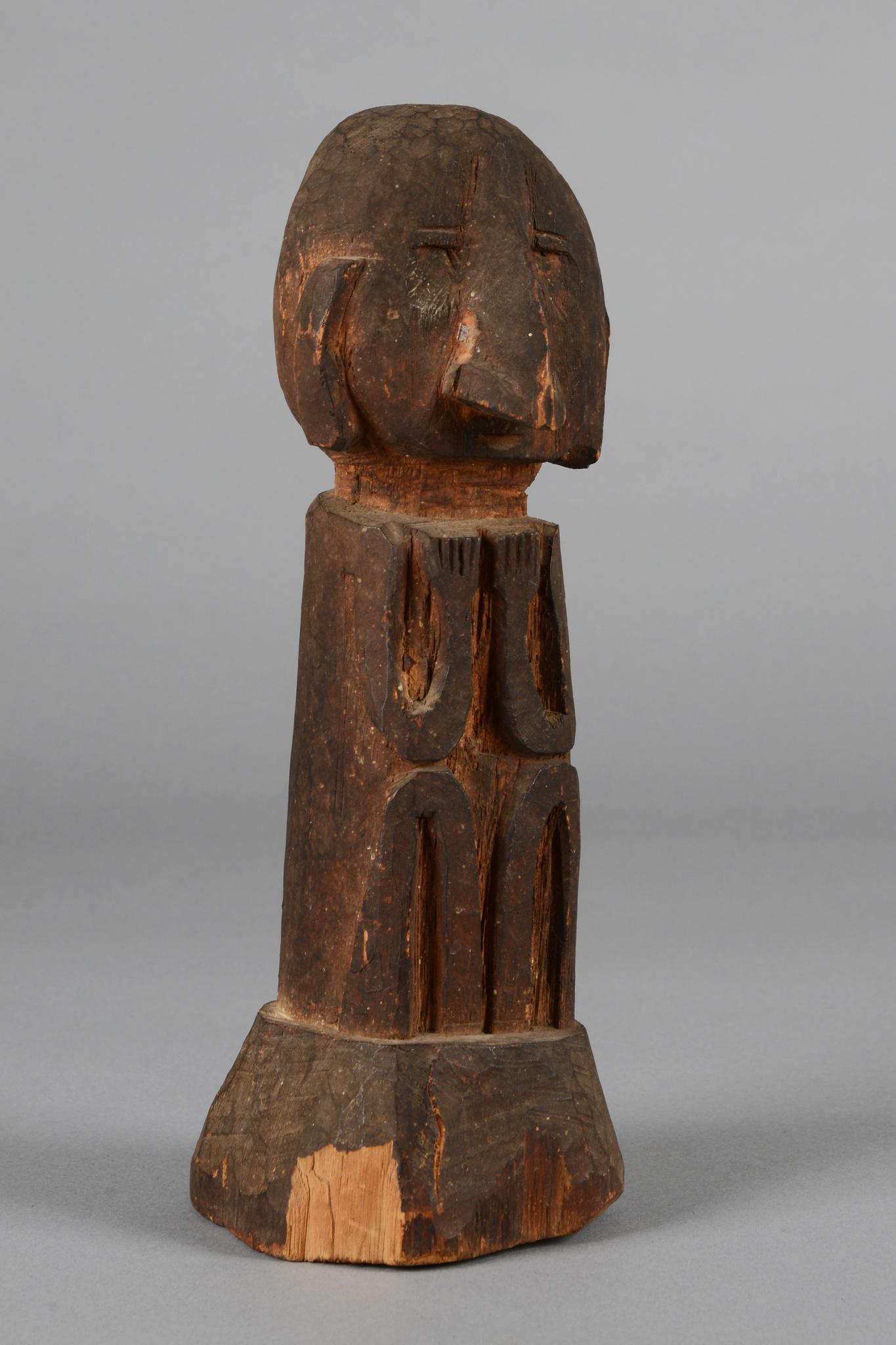 "Male ancestor figure ""yene"""