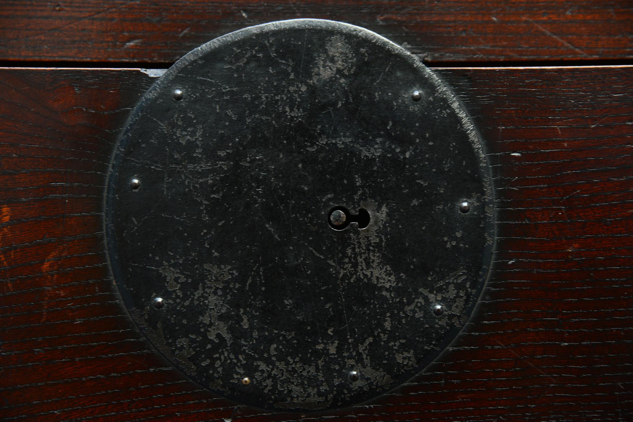 "Kaufmannstruhe ""choba dansu"", Meiji Periode, spätes 19. Jahrhundert"