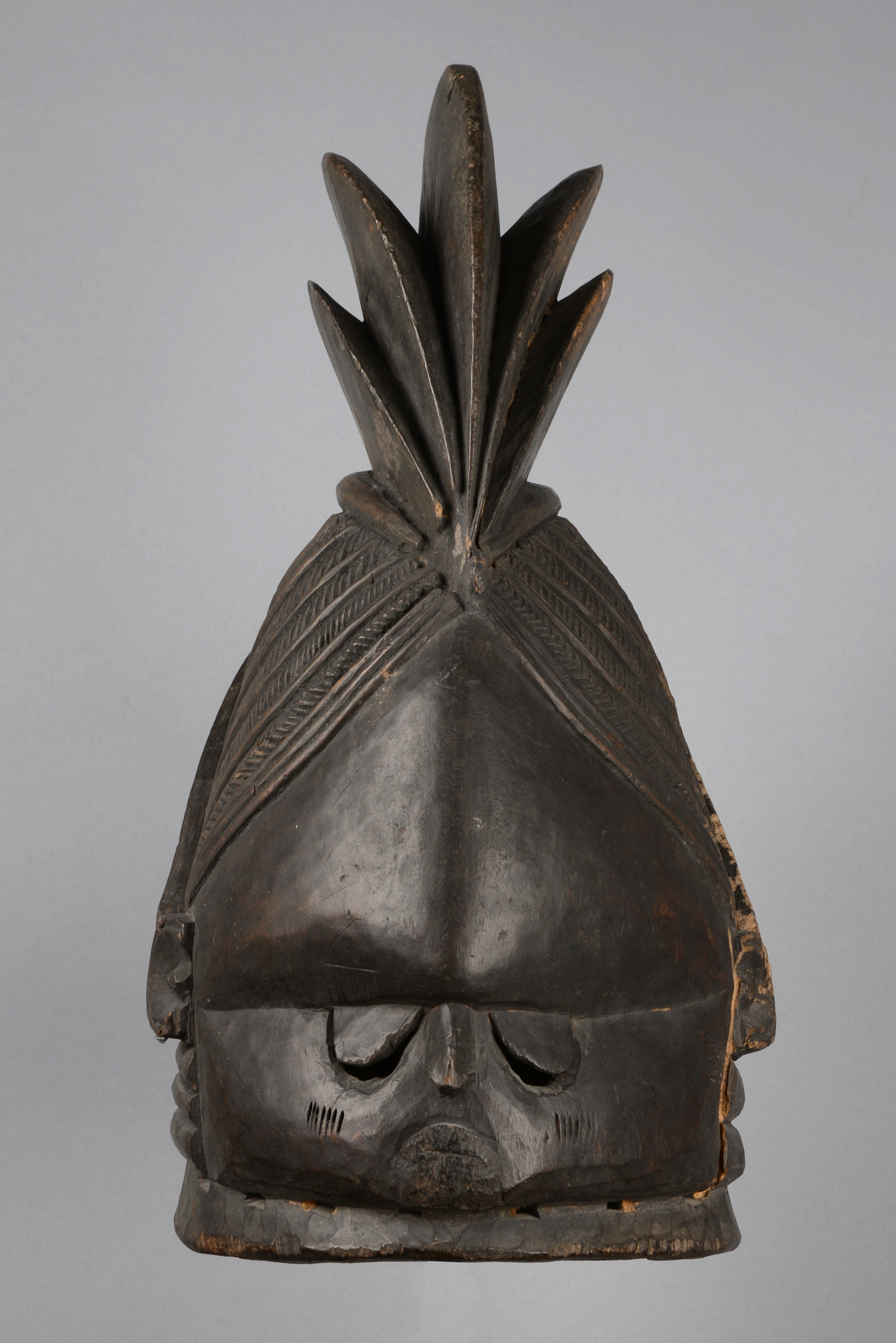 "Helmmaske ""ndoli jowel"" der ""sande""-Gesellschaft"