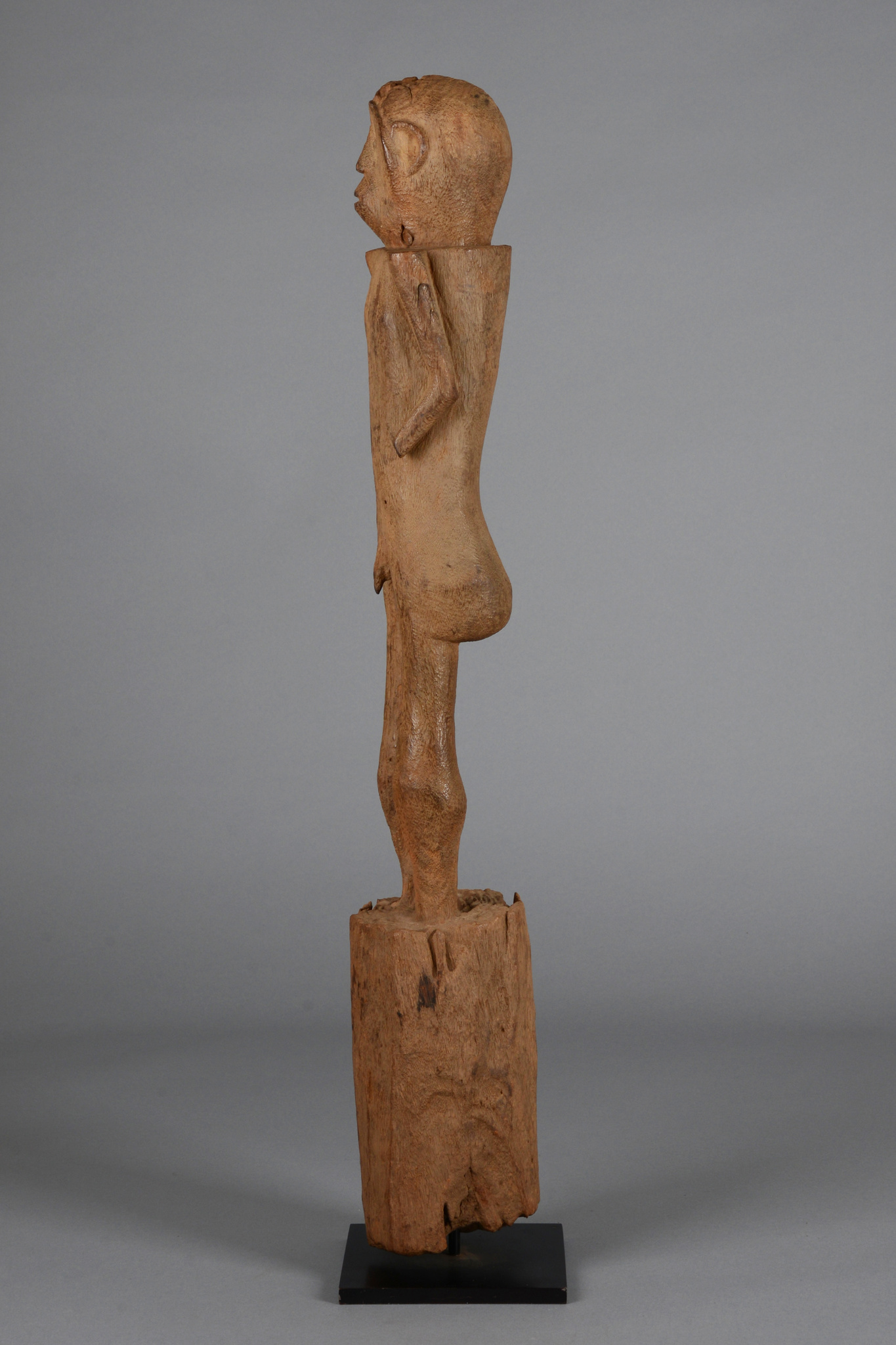 "Figural post ""ngya"", 19th/ early 20th century"