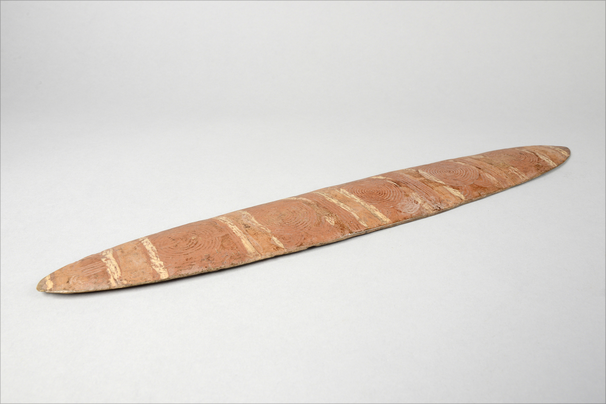 "Sacred board ""tjuringa"" (""churinga"", ""tjurunga""), late 19th century"