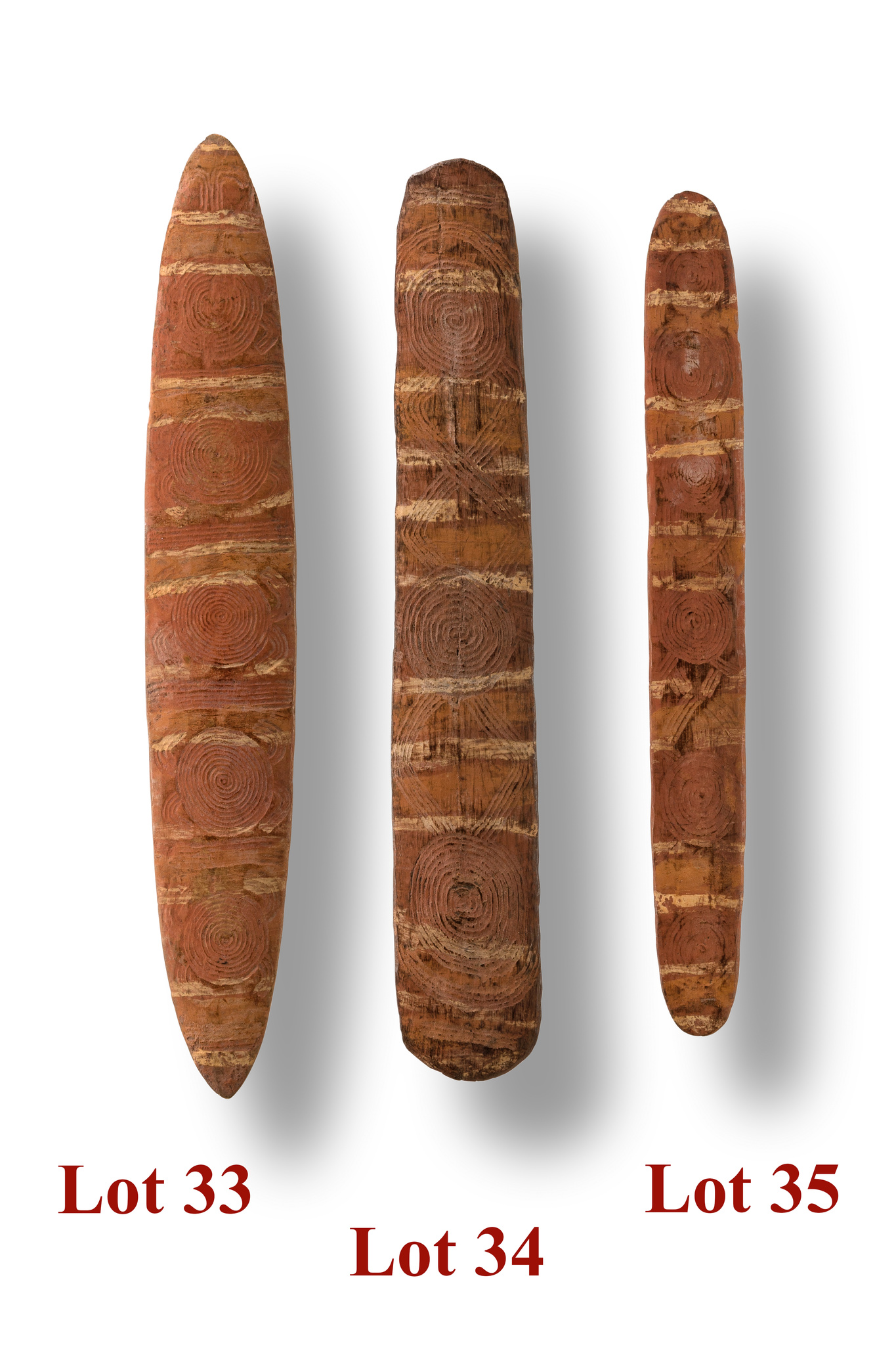 """Sacred board """"tjuringa"""" (""""churinga"""", """"tjurunga""""), late 19th century"""