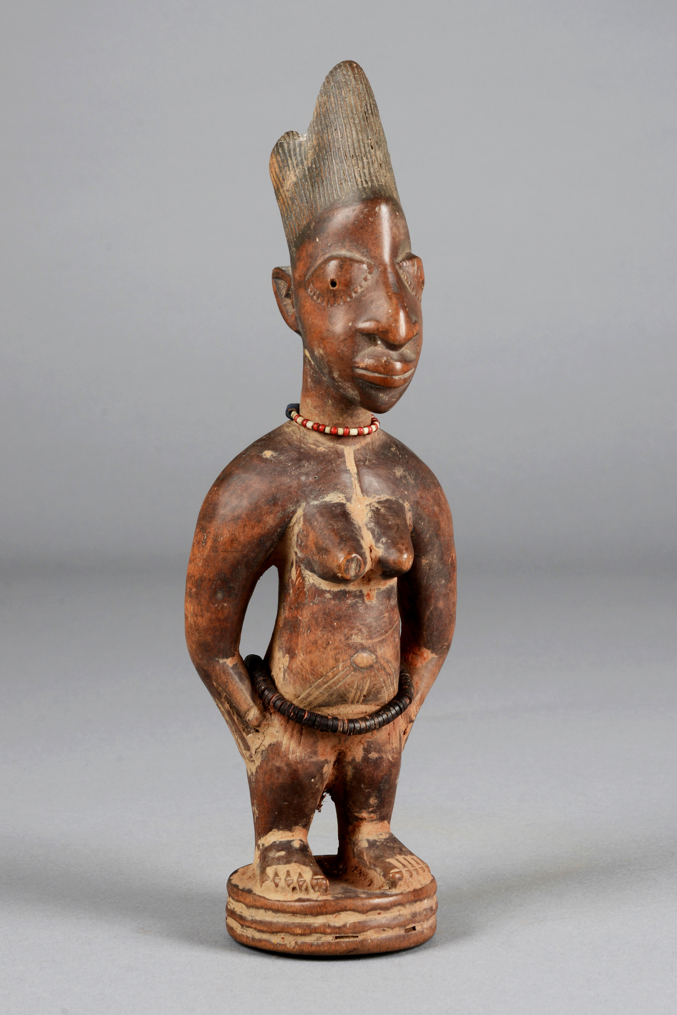 "Female twin figure ""ere ibeji"""