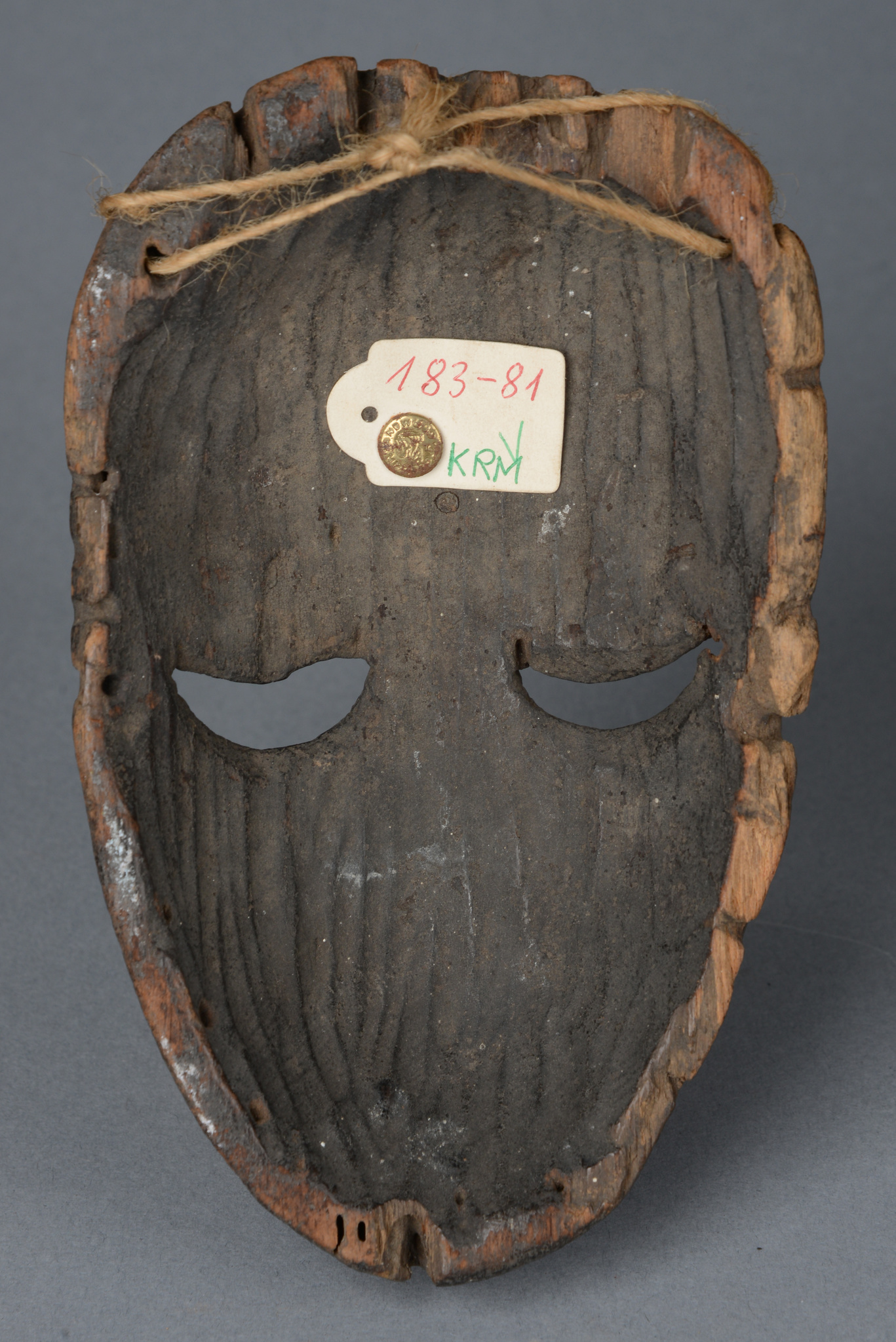 "Small mask of the ""ekpo"" society"