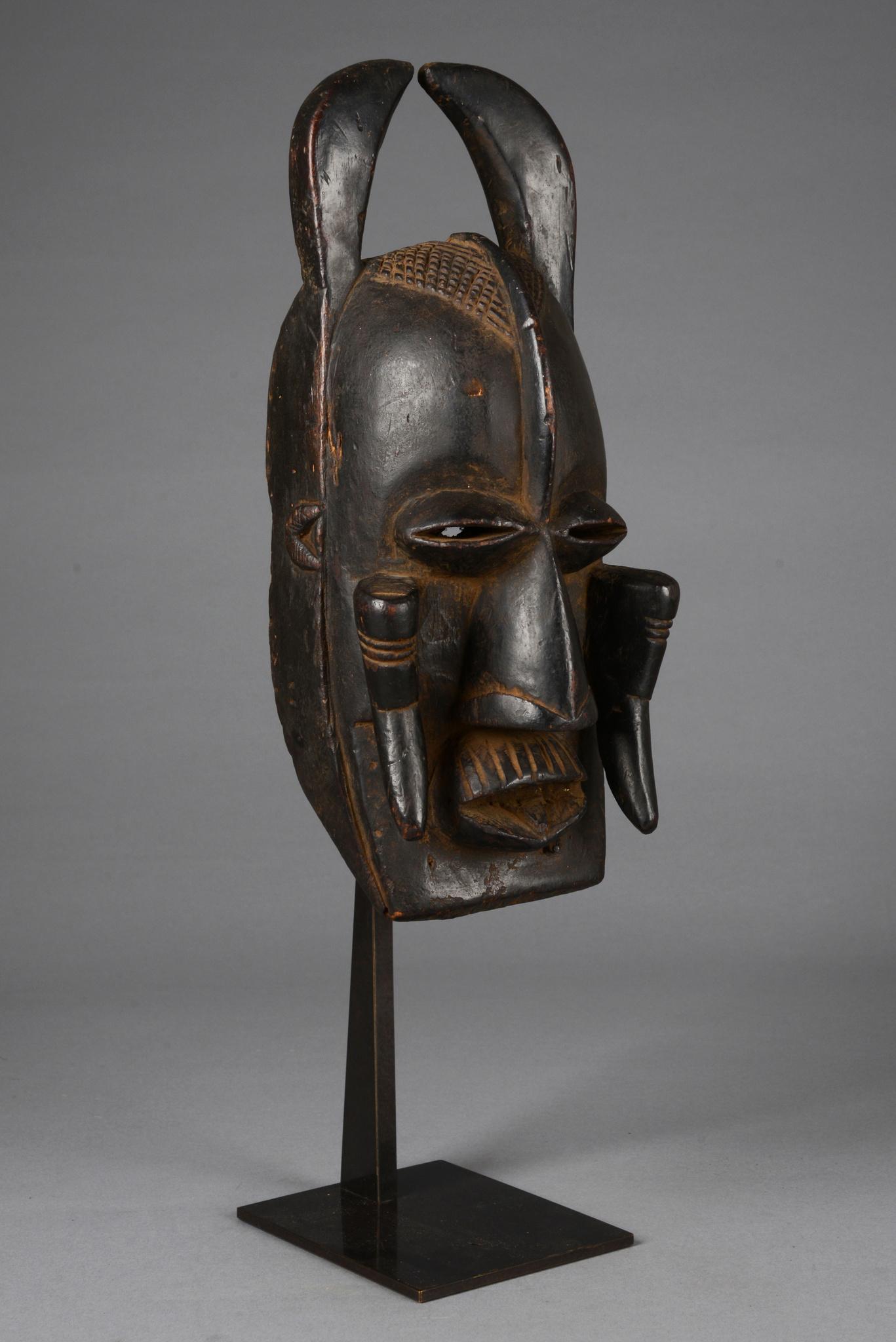 """Anthropo-/ zoomorphe Maske """"n'gré (oder glé)"""