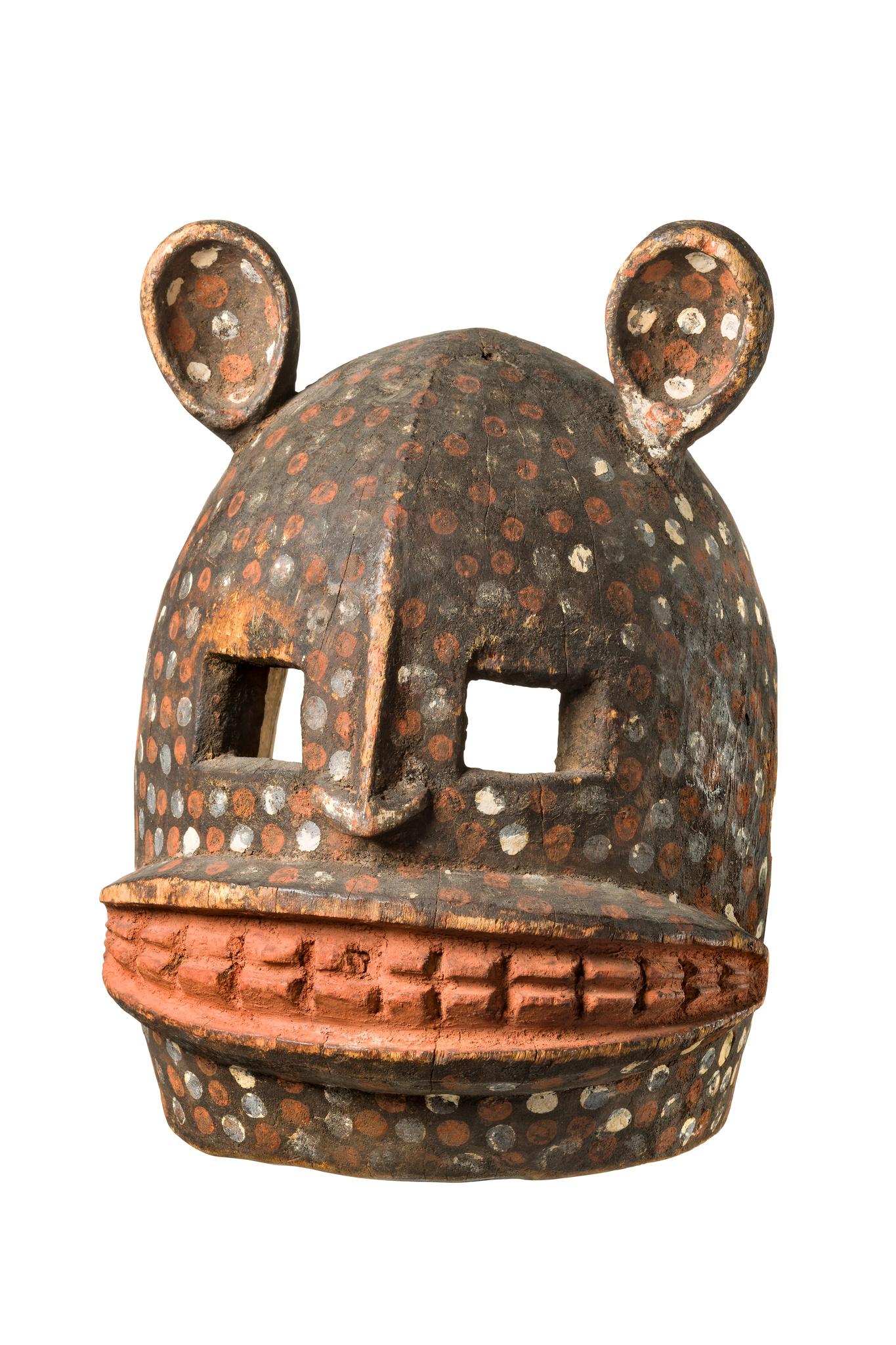 Hyänen- oder Gepardenmaske