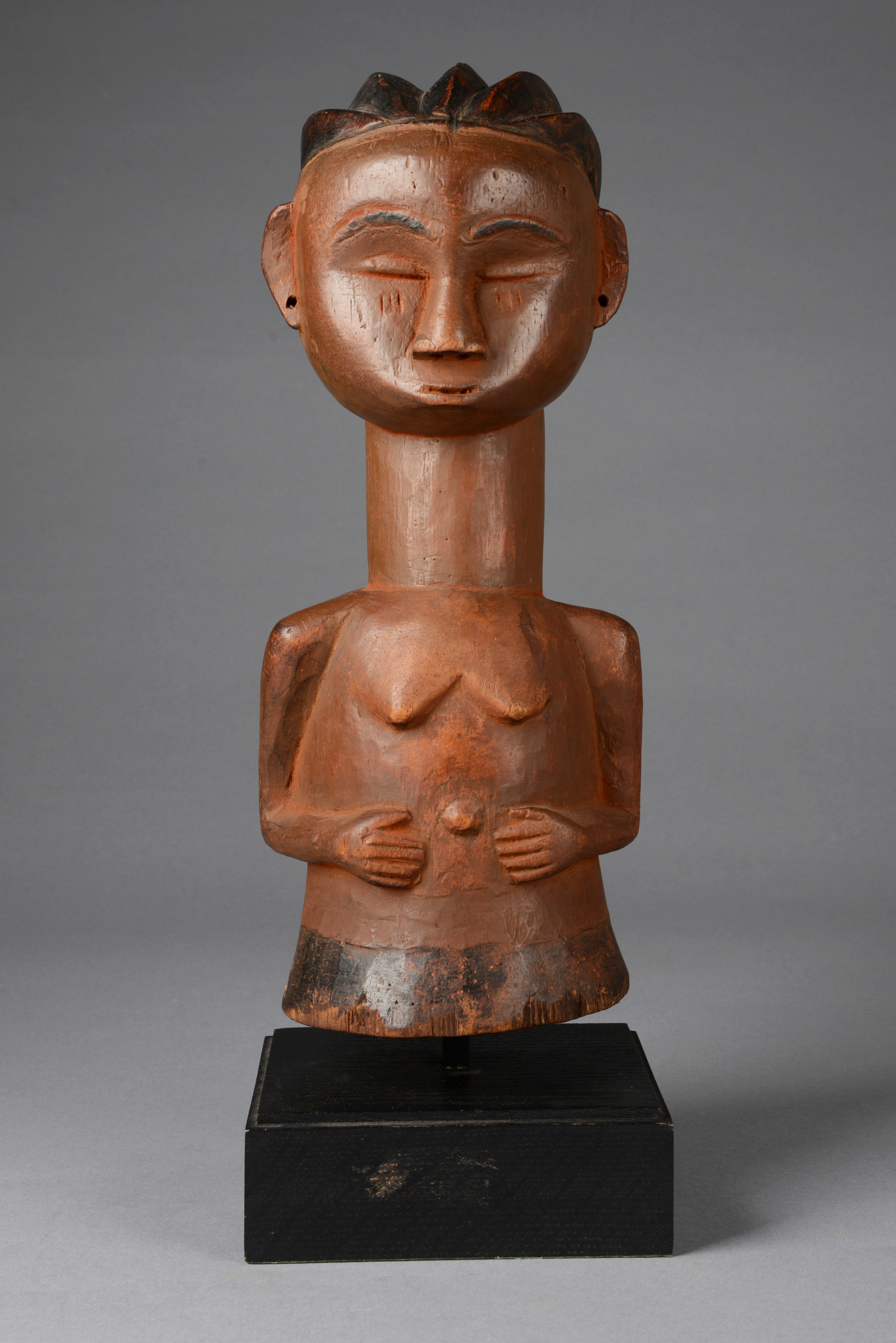 Female half figure