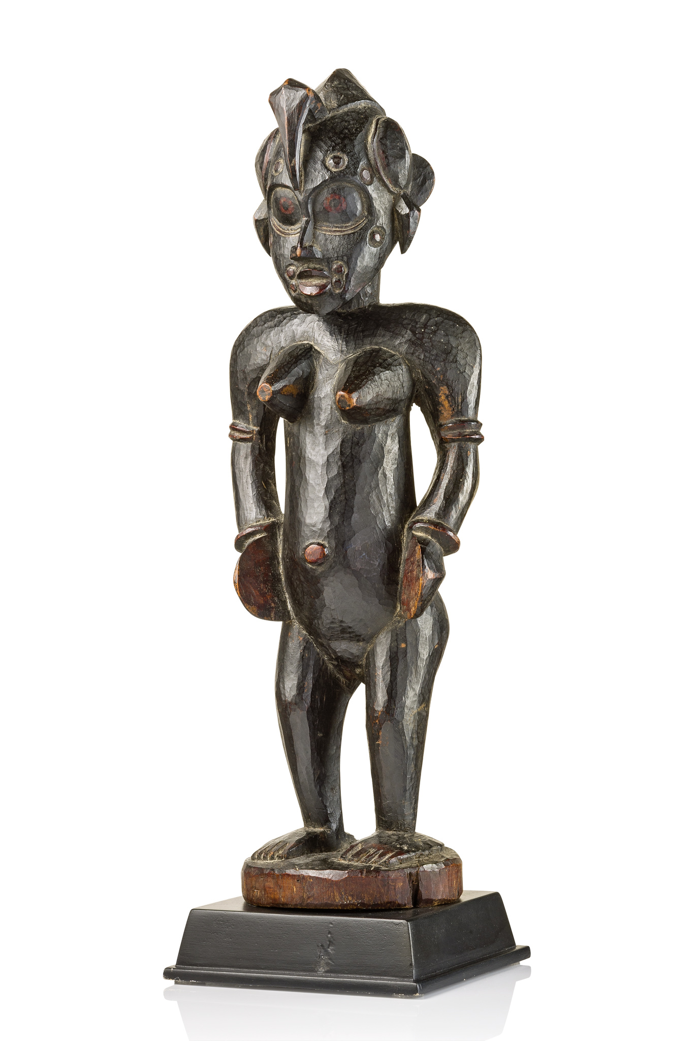 "Female figure ""ndeo"" of the ""poro"" society"