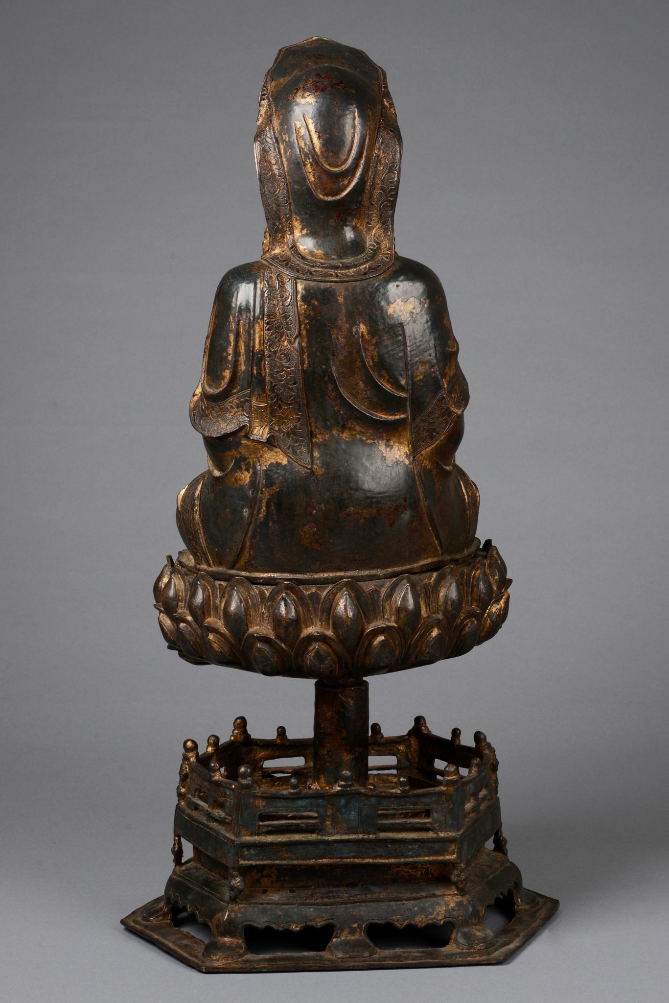 "Figur des ""Bodhisattva Guanyin"", 18. / 19. Jahrhundert"