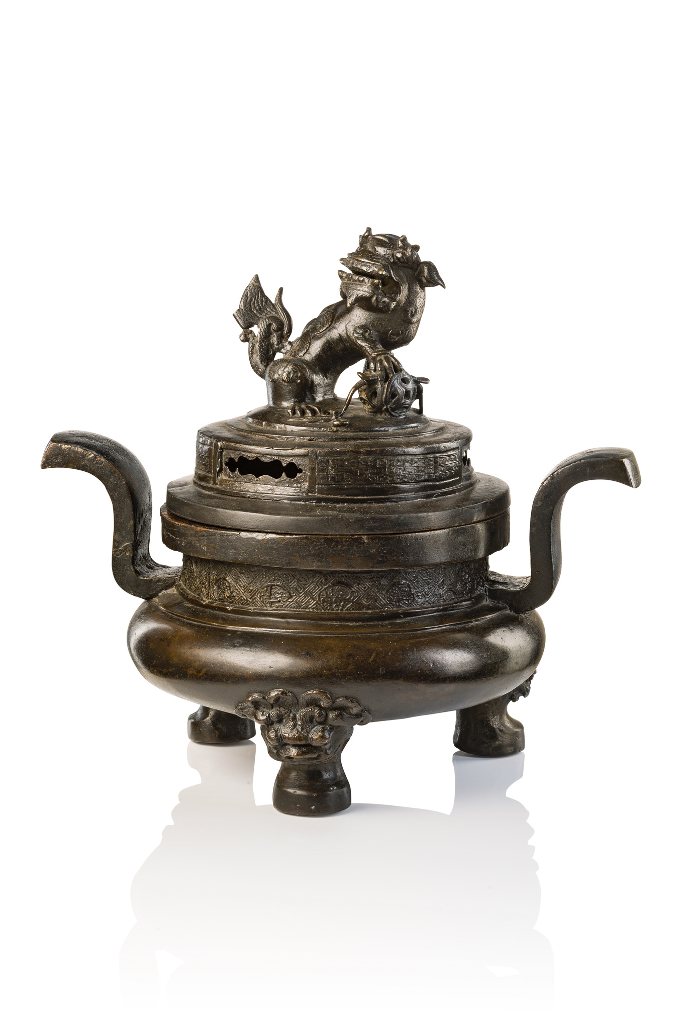 Räuchergefäß, späte Ming-Zeit, 17. Jahrhundert
