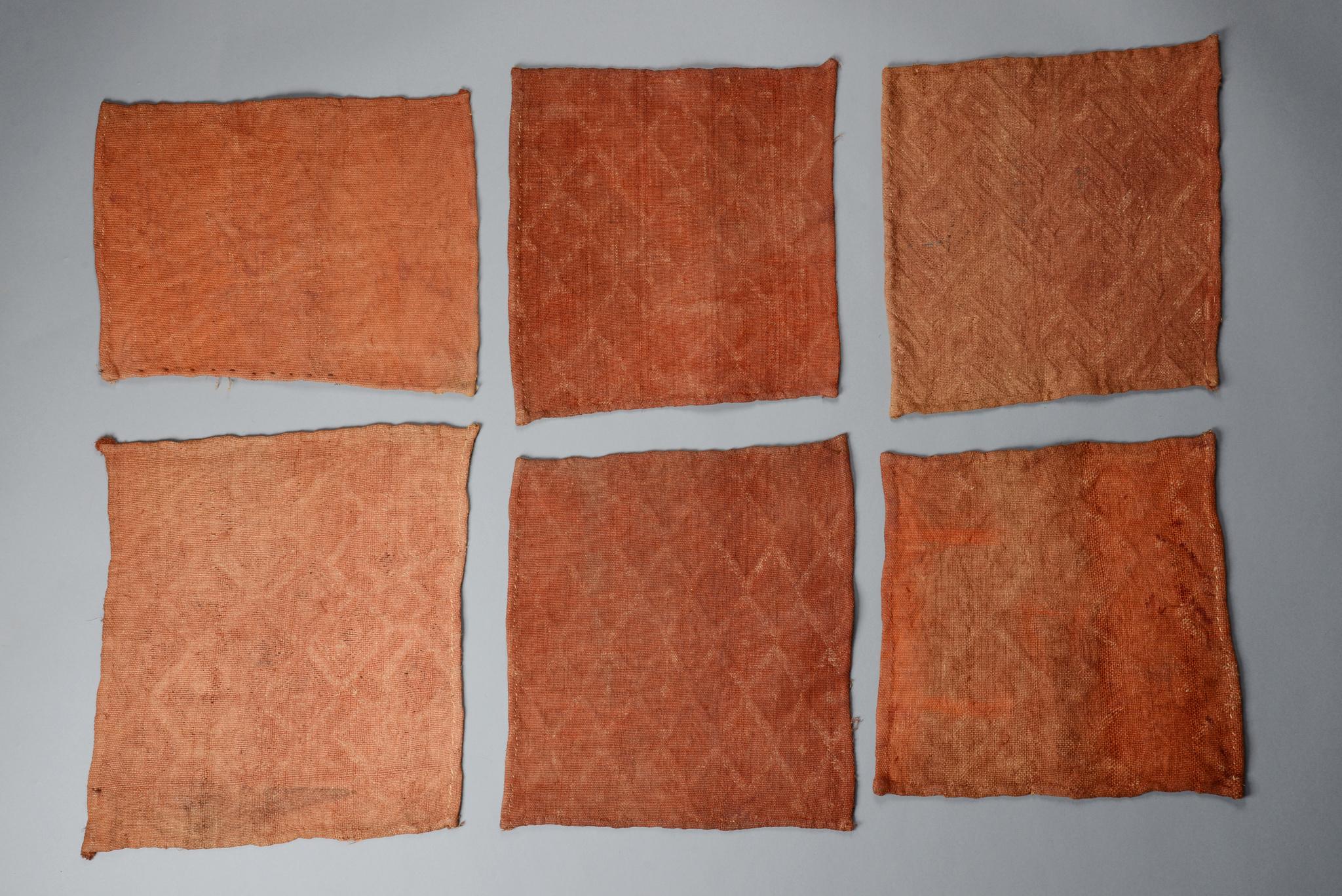 """Sechs kleine Textilien """"bilaam"""""""