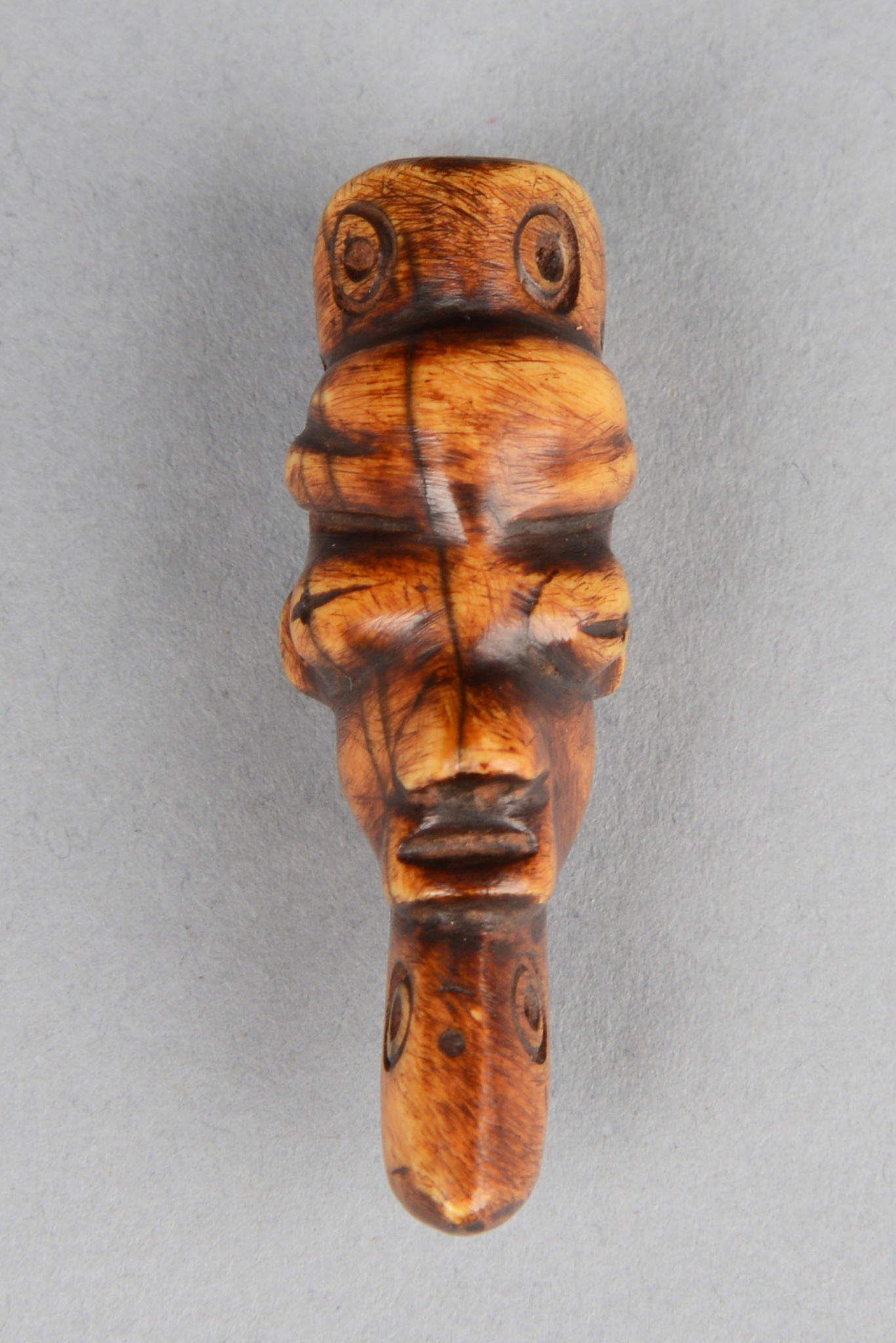 "Anthropomorphic amulet mask ""ikoko"""
