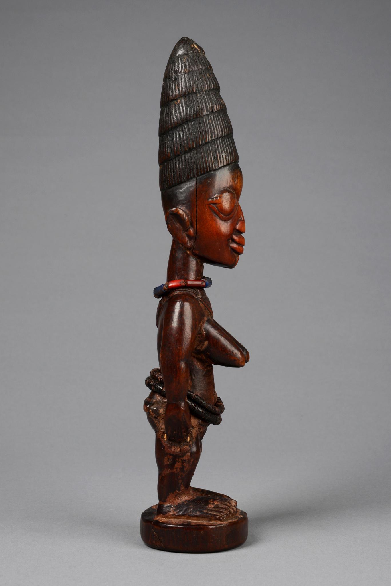 "Female twin figure ""ere ibeji"", mid to late 19th century"
