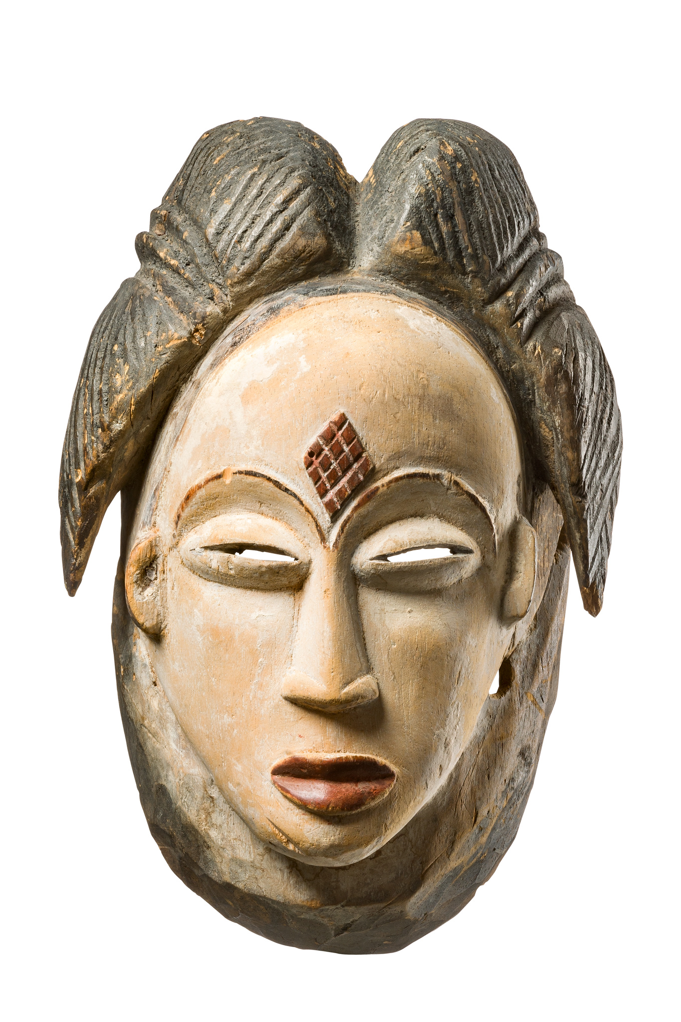 """Female face mask """"okuyi"""" or """"mukudji"""""""