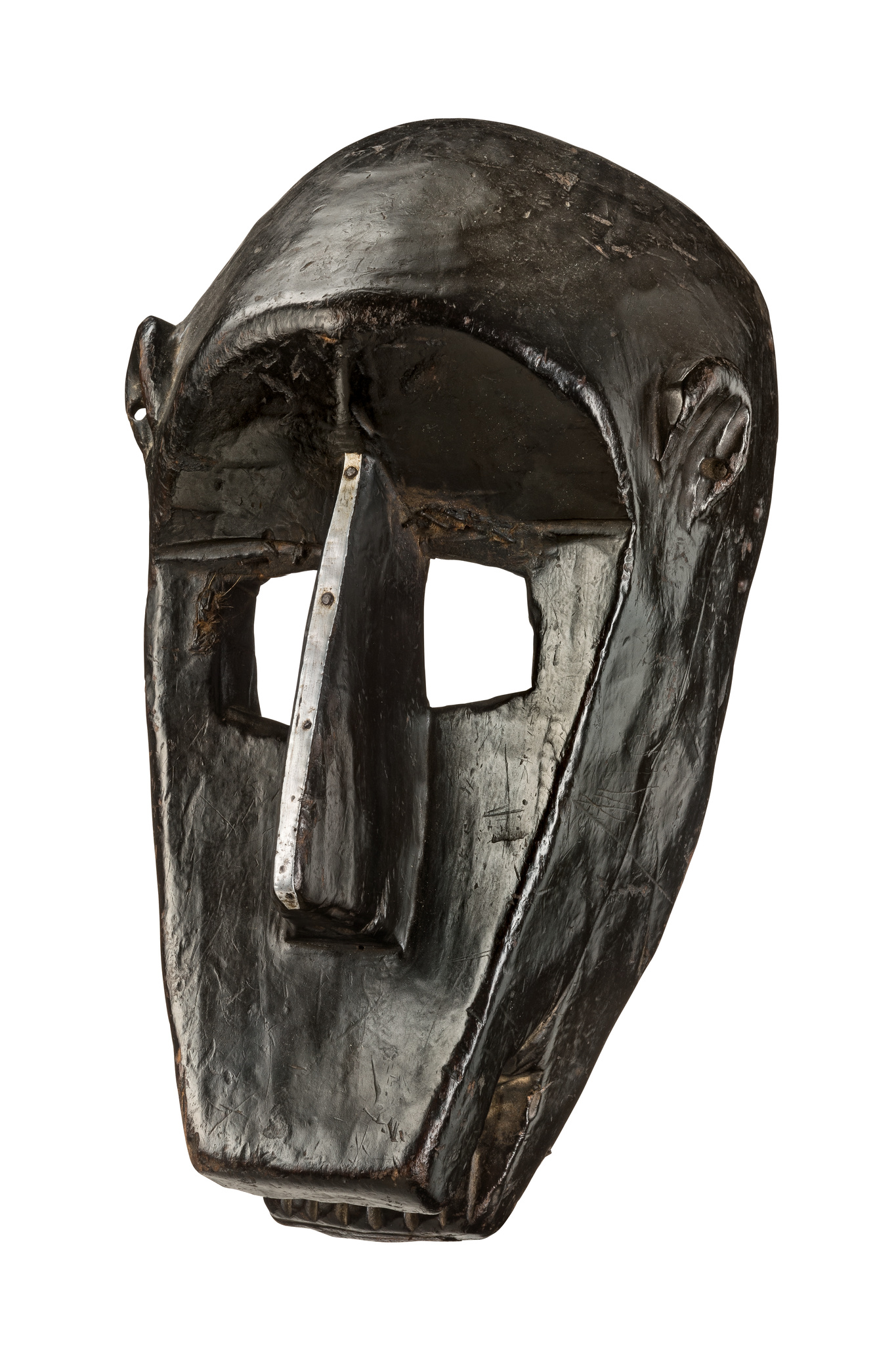 "Hyaena mask ""suruku"" of the ""korè"" society"