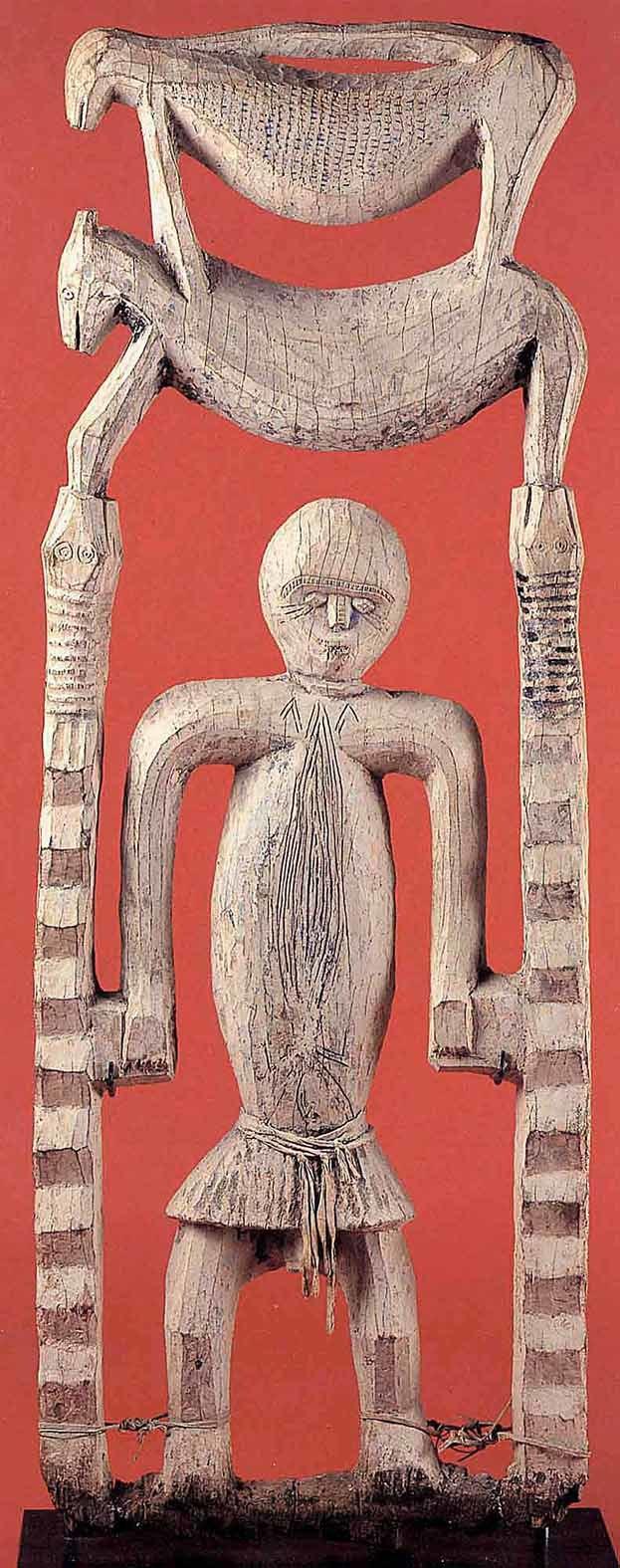Rare figural sculpture