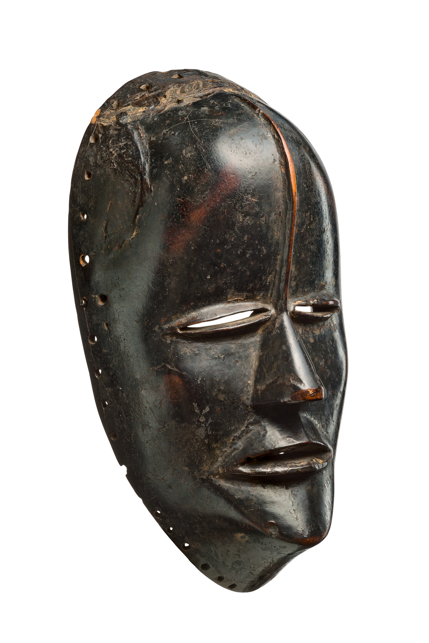 "Rare mask type with forehead scar ""tohourou"""