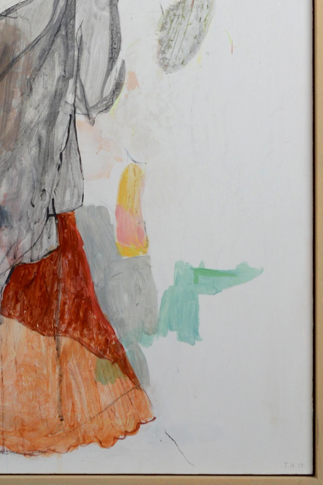 """""""Kissing a bride through a veil"""", 2017"""