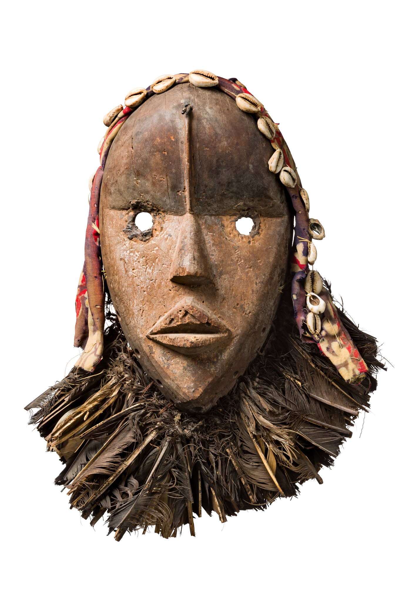 "Anthropomorphic mask ""zakpai"""
