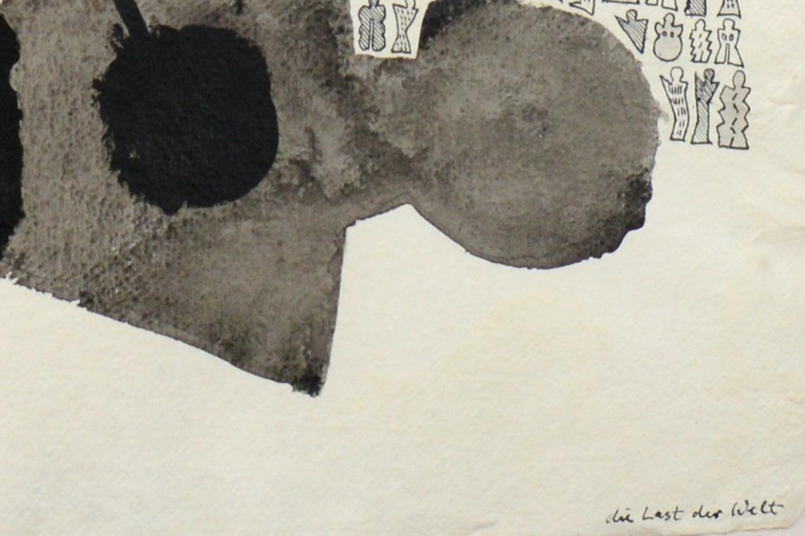 """""""Die Last der Welt"""", 2003"""
