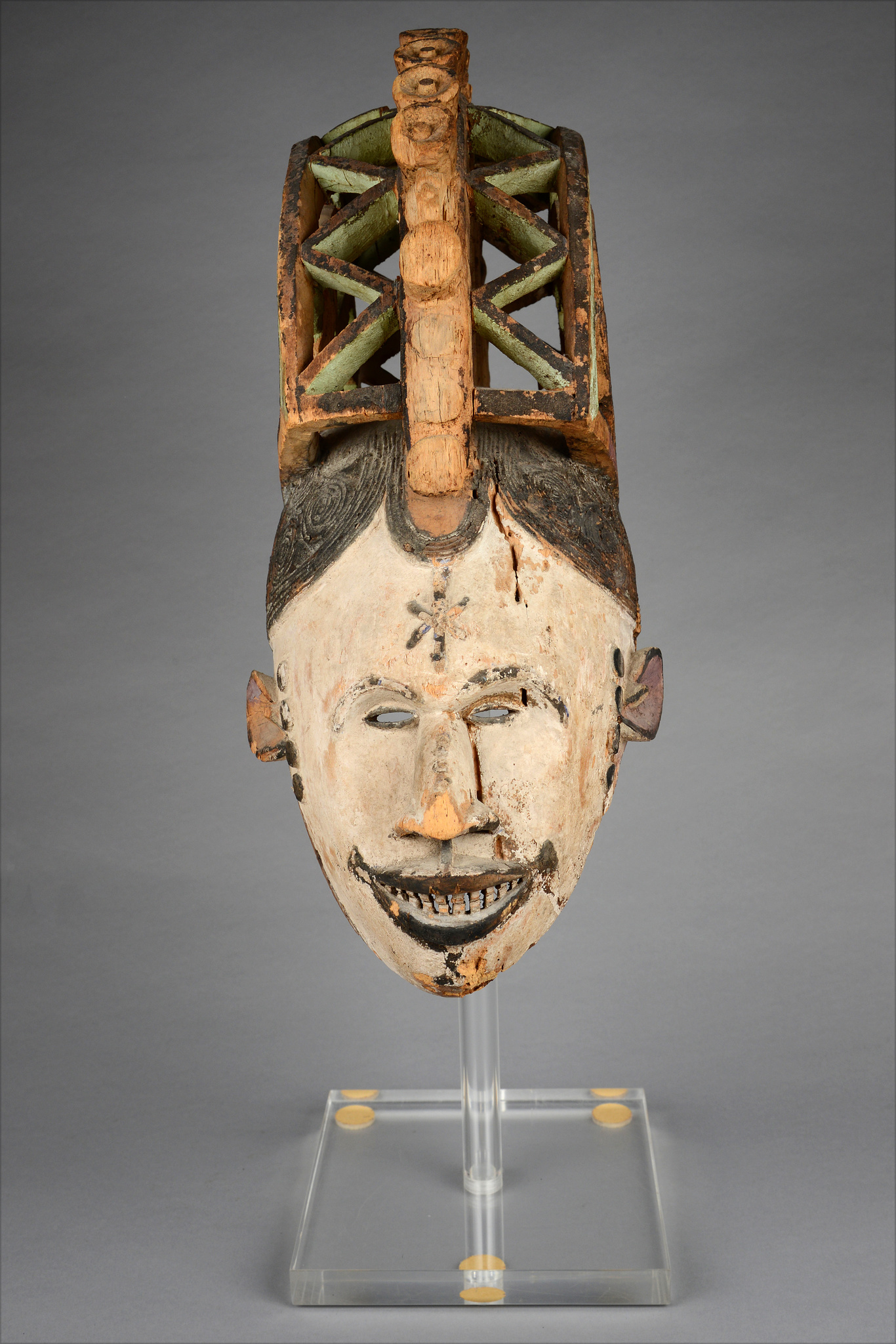 "Maiden spirit mask ""agbogho mmwo"""