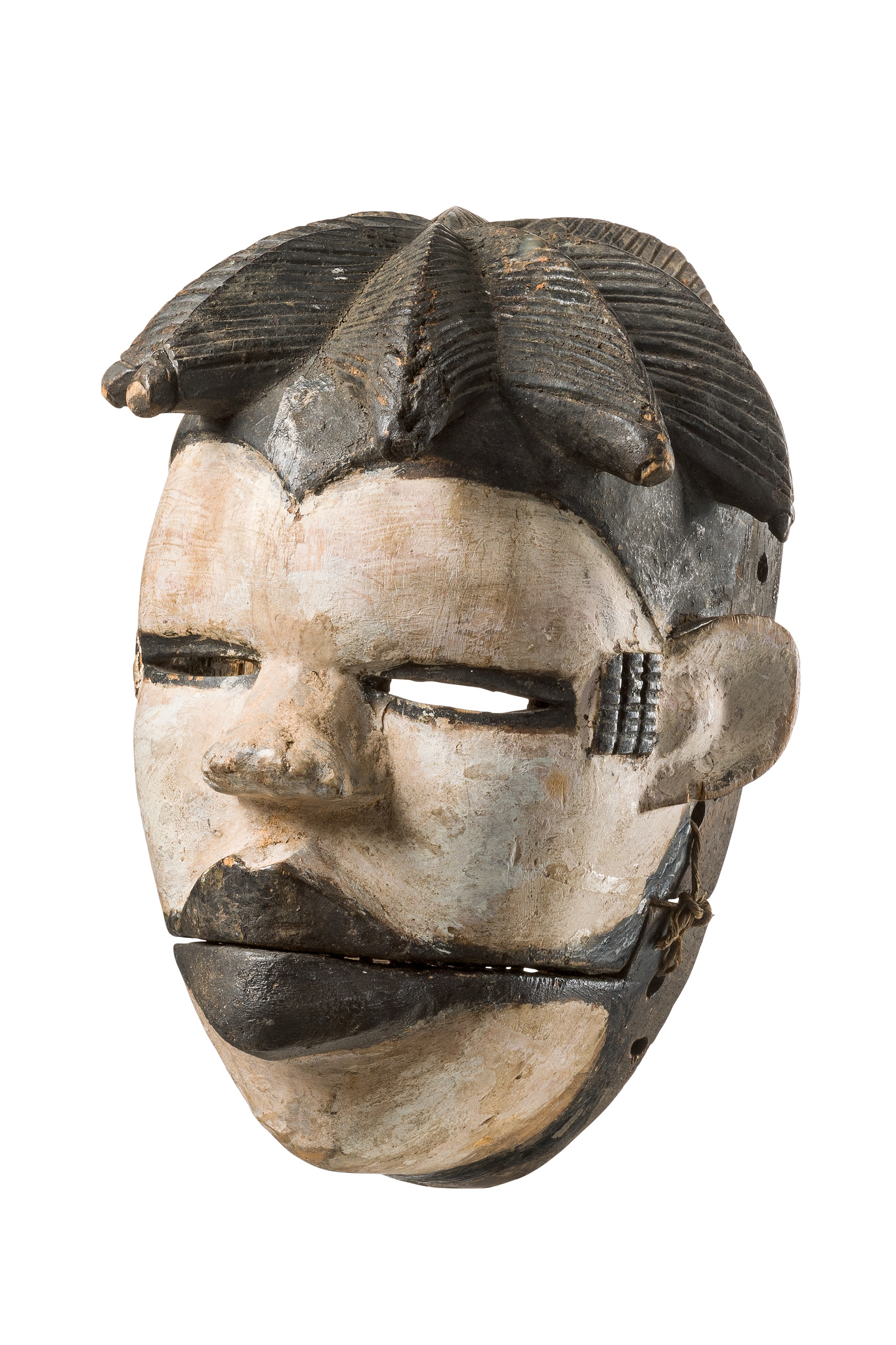 "Mask with articulated jaw ""elu"""