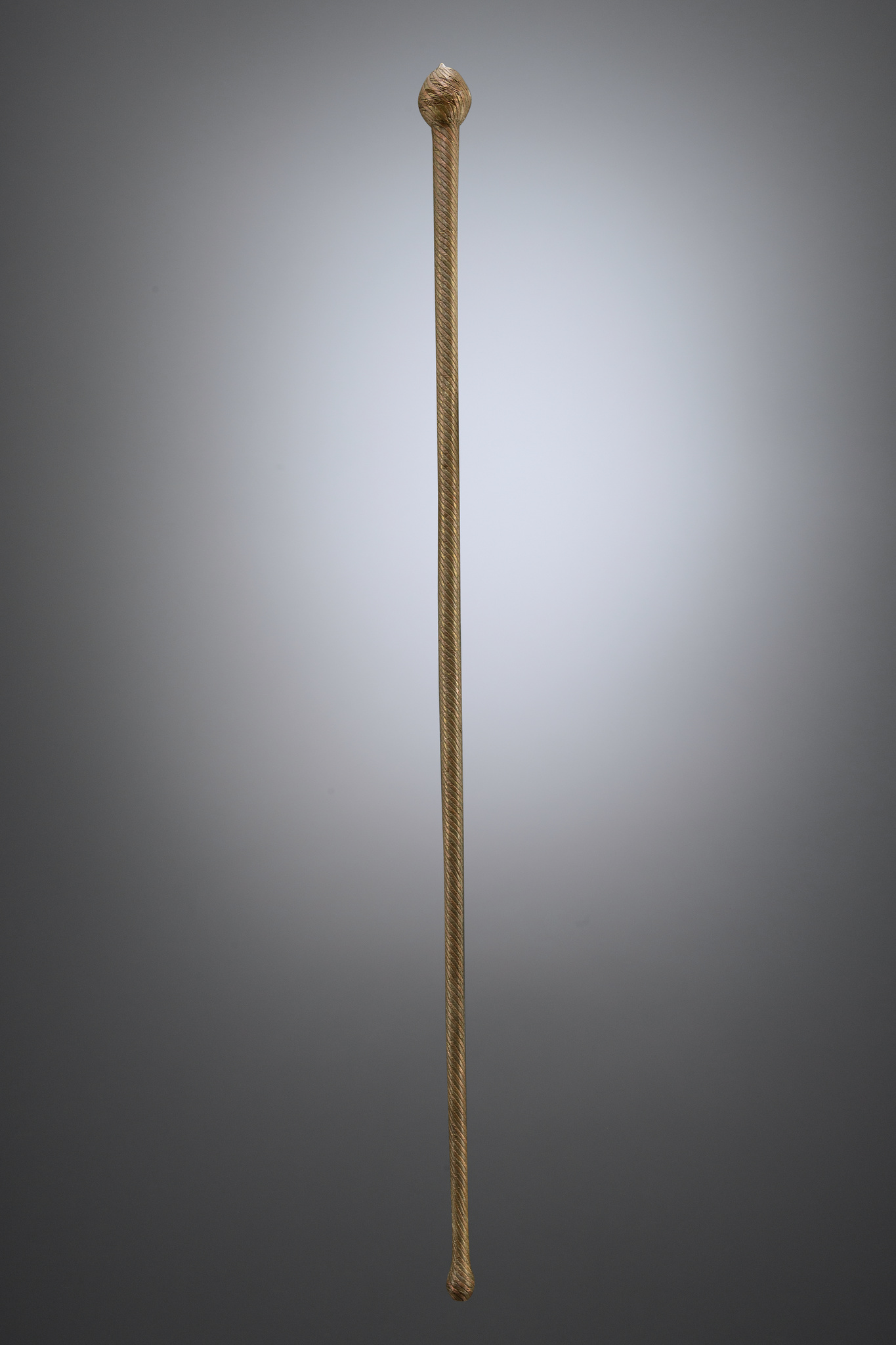 "Club (""knobkerrie"") ""ishungu"", walking stick or dance wand"