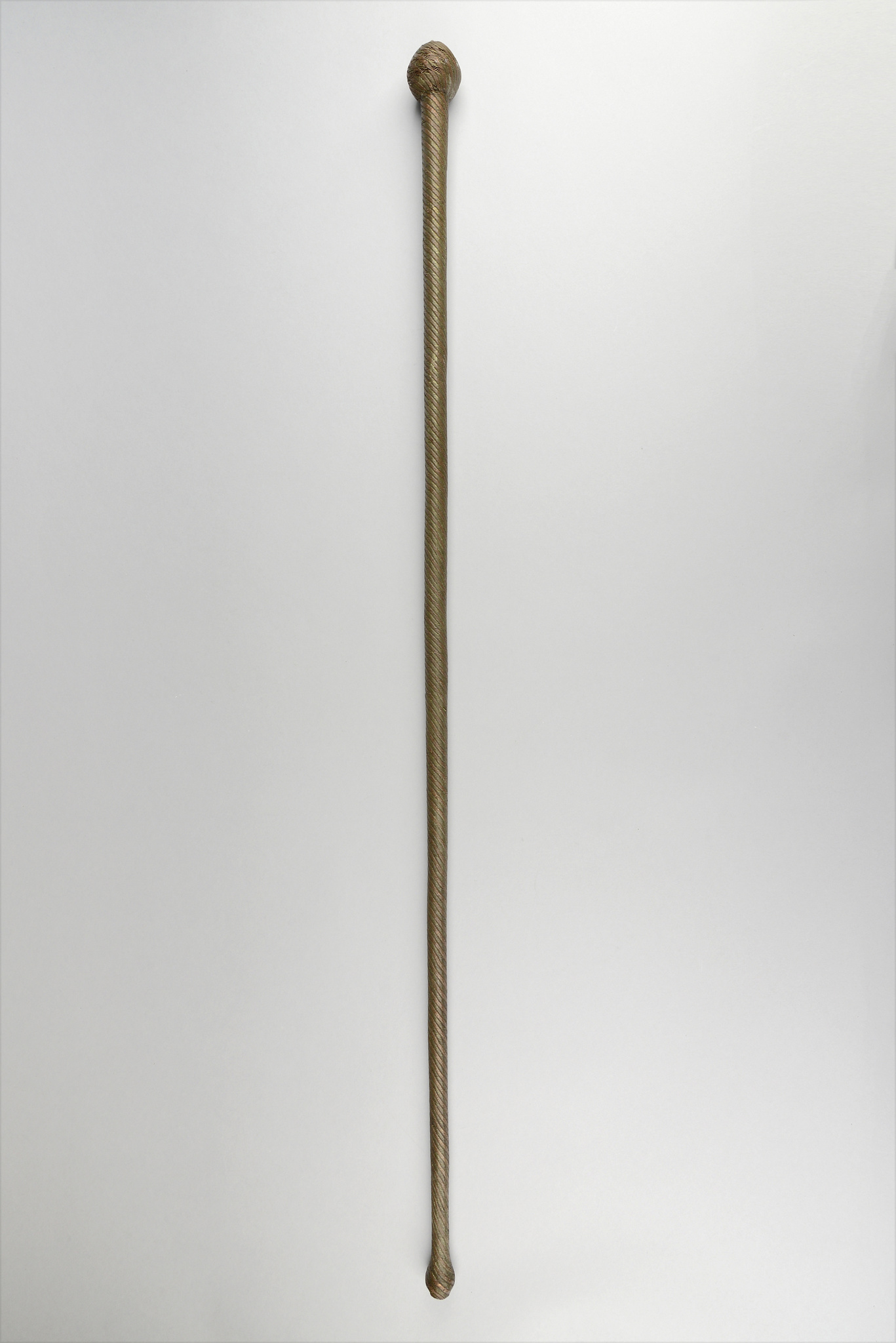 """Club (""""knobkerrie"""") """"ishungu"""", walking stick or dance wand"""