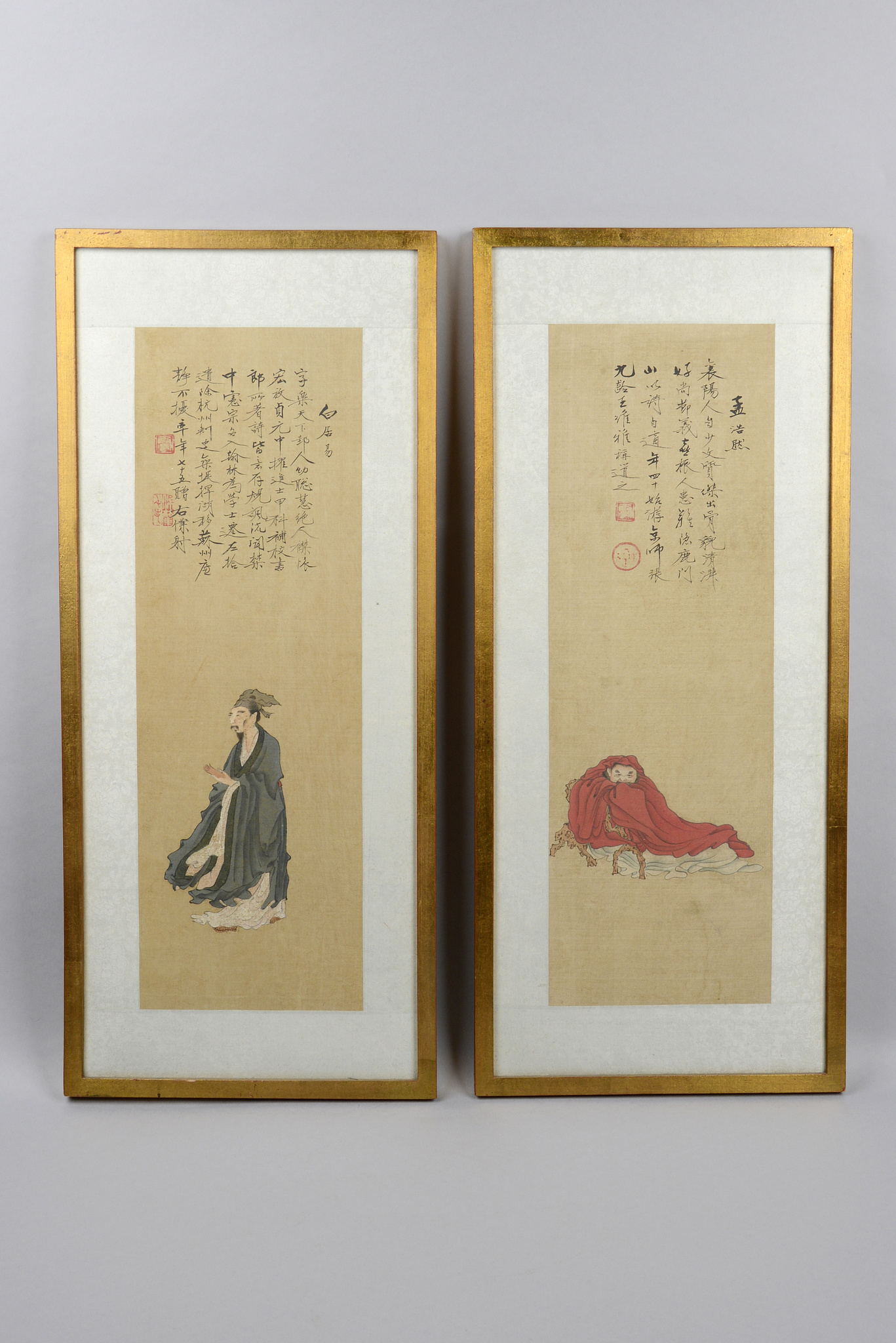 """Meng Haoran"" and ""Bai Juyi"""