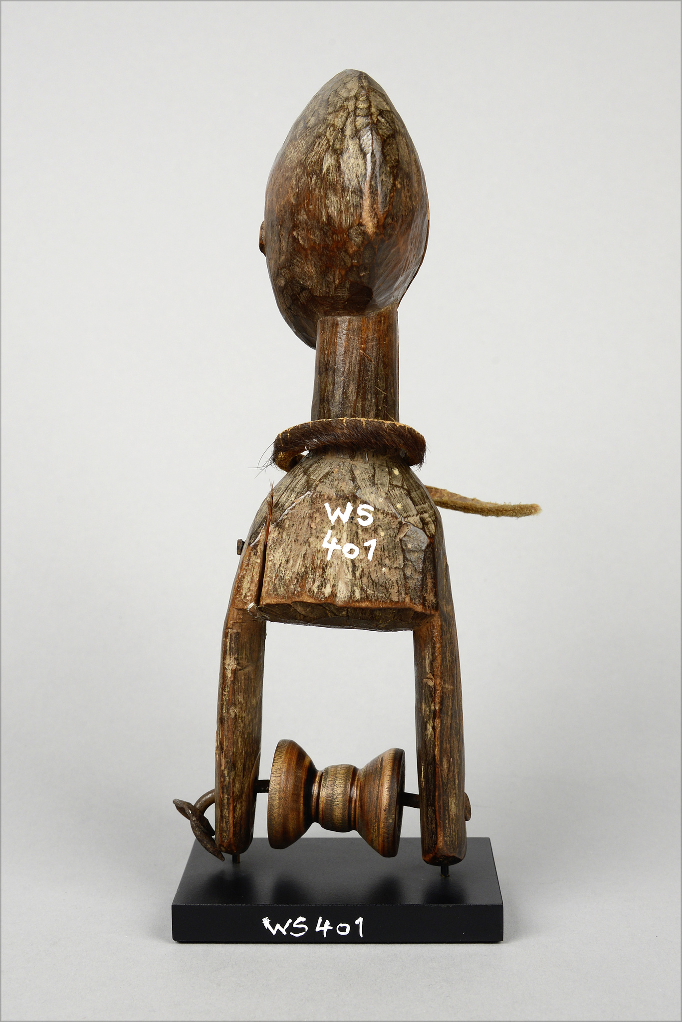 """Heddle pulley with anthropomorphic head """"konantre"""""""