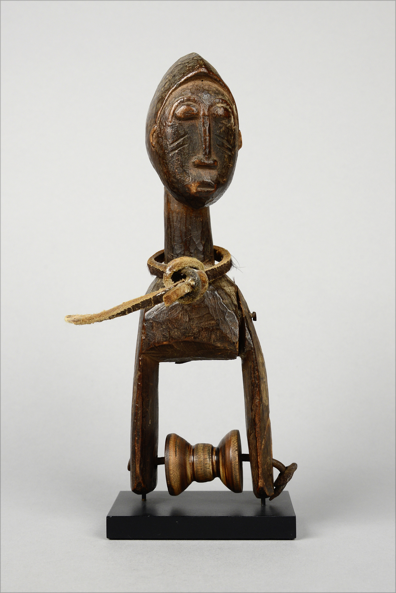 "Heddle pulley with anthropomorphic head ""konantre"""