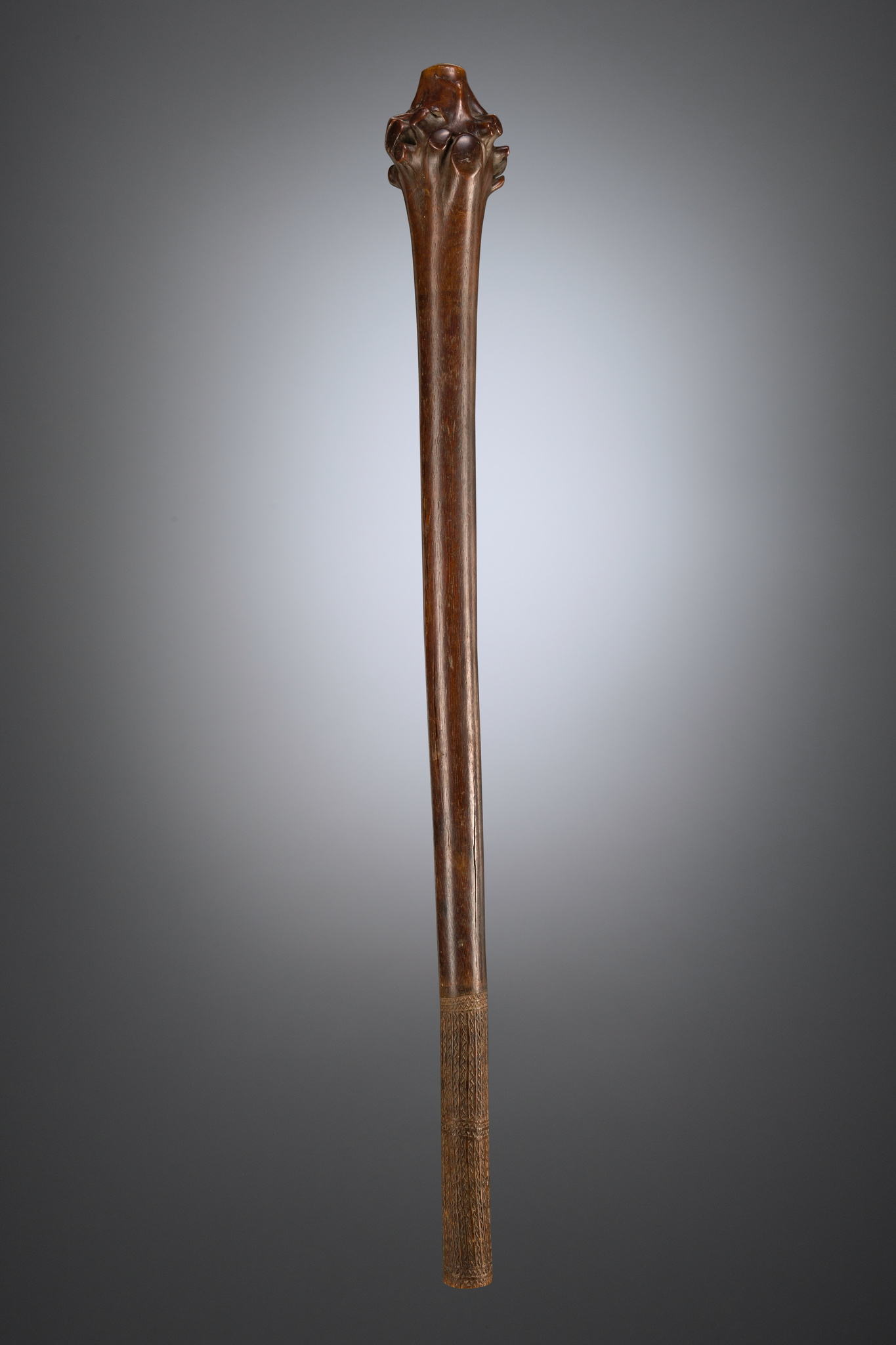 "Rootstock club ""dromudromu"" or ""vunikau"", 19th century"